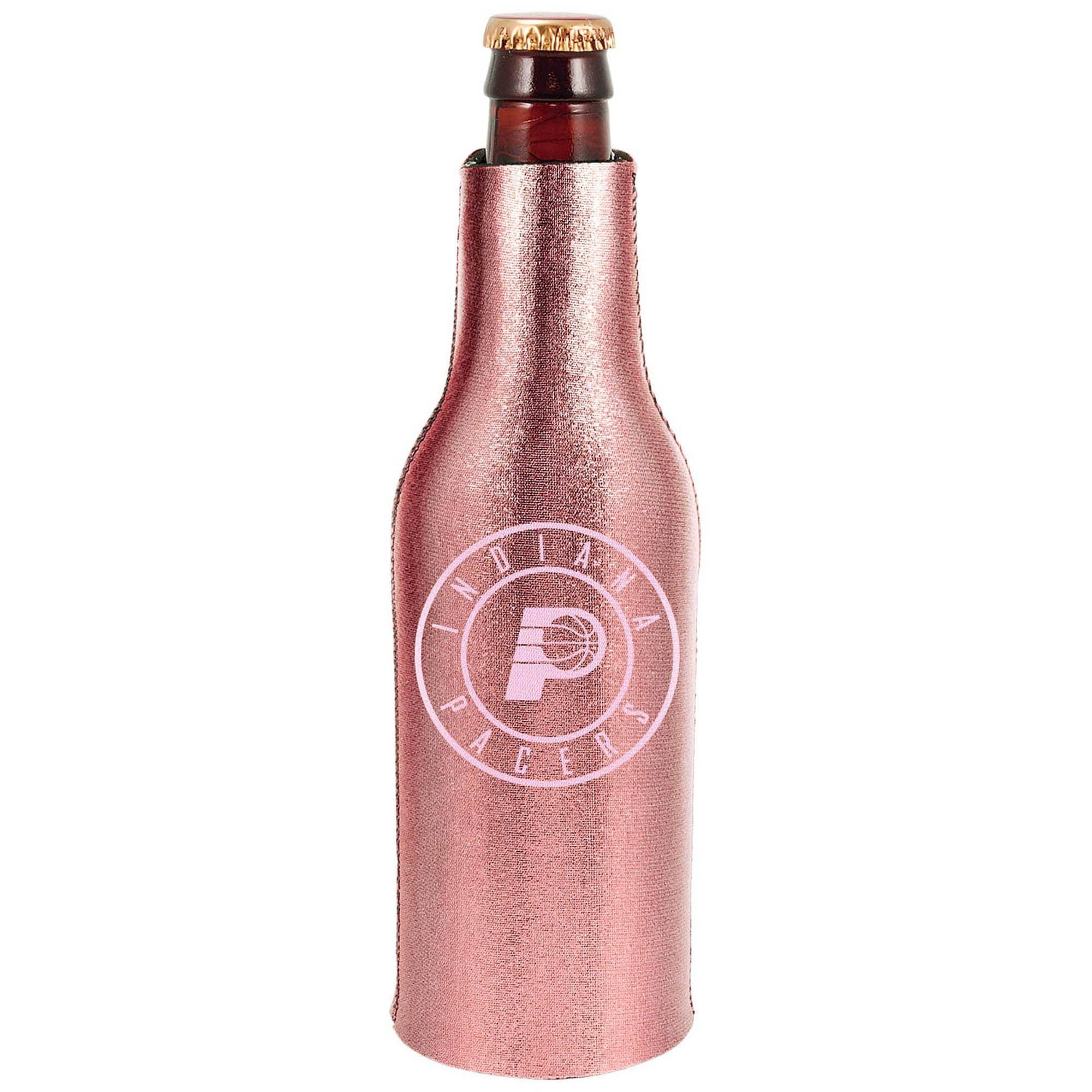 Indiana Pacers 12oz. Rose Gold Bottle Cooler