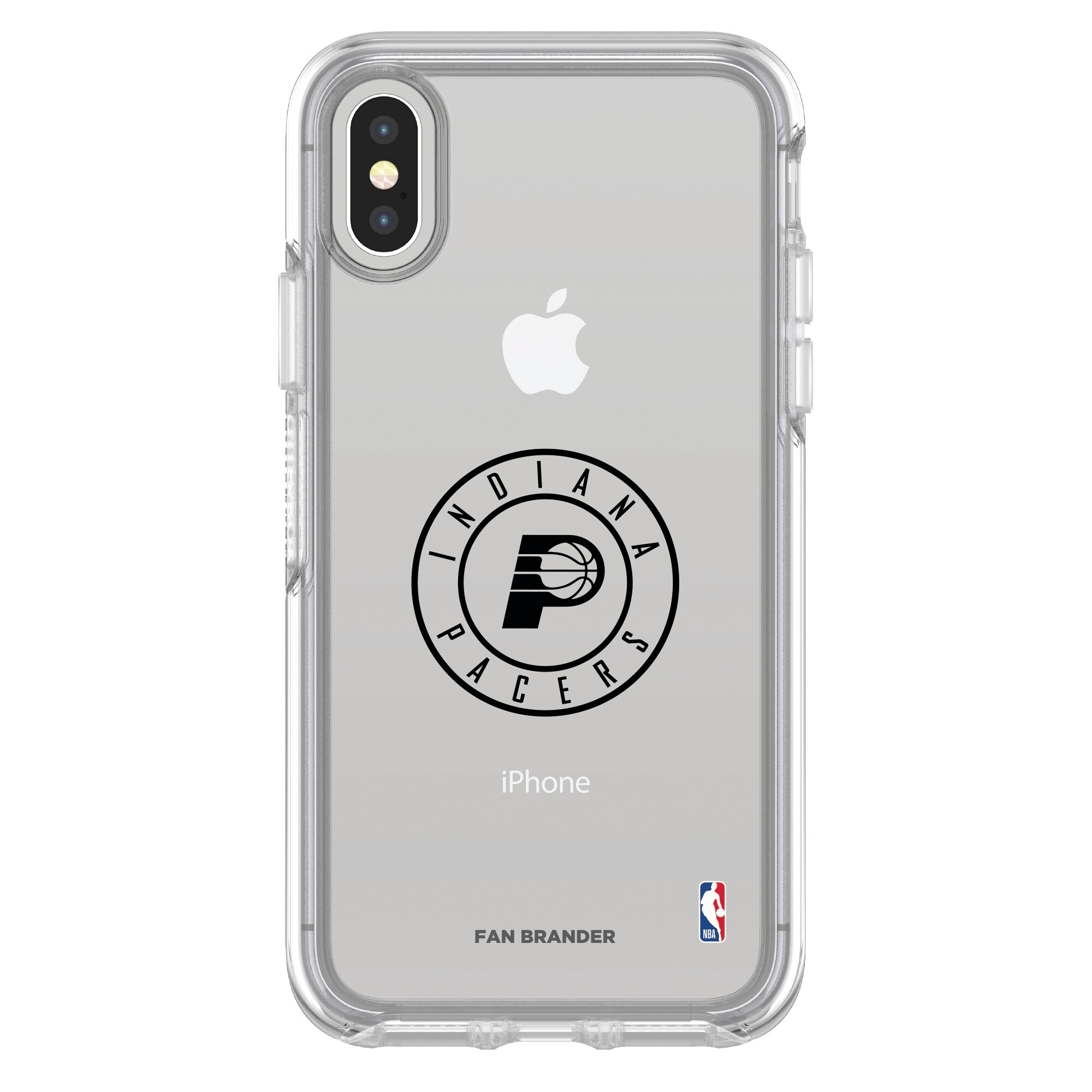 Indiana Pacers OtterBox Clear iPhone Symmetry Case
