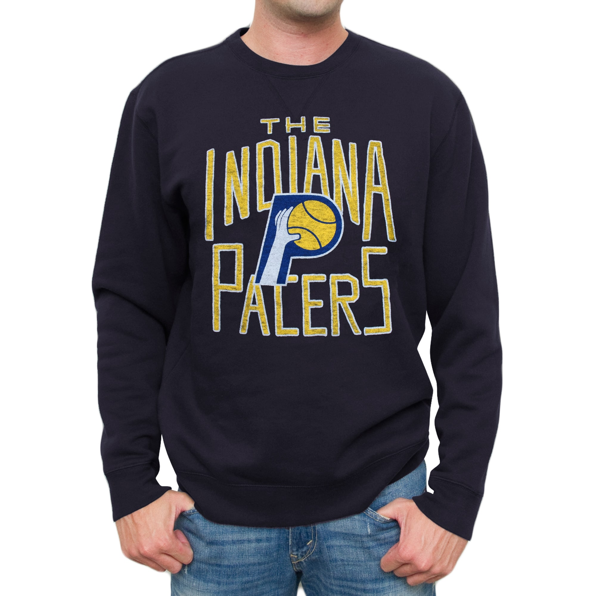 Indiana Pacers Spring Fleece Sweatshirt - Navy Blue