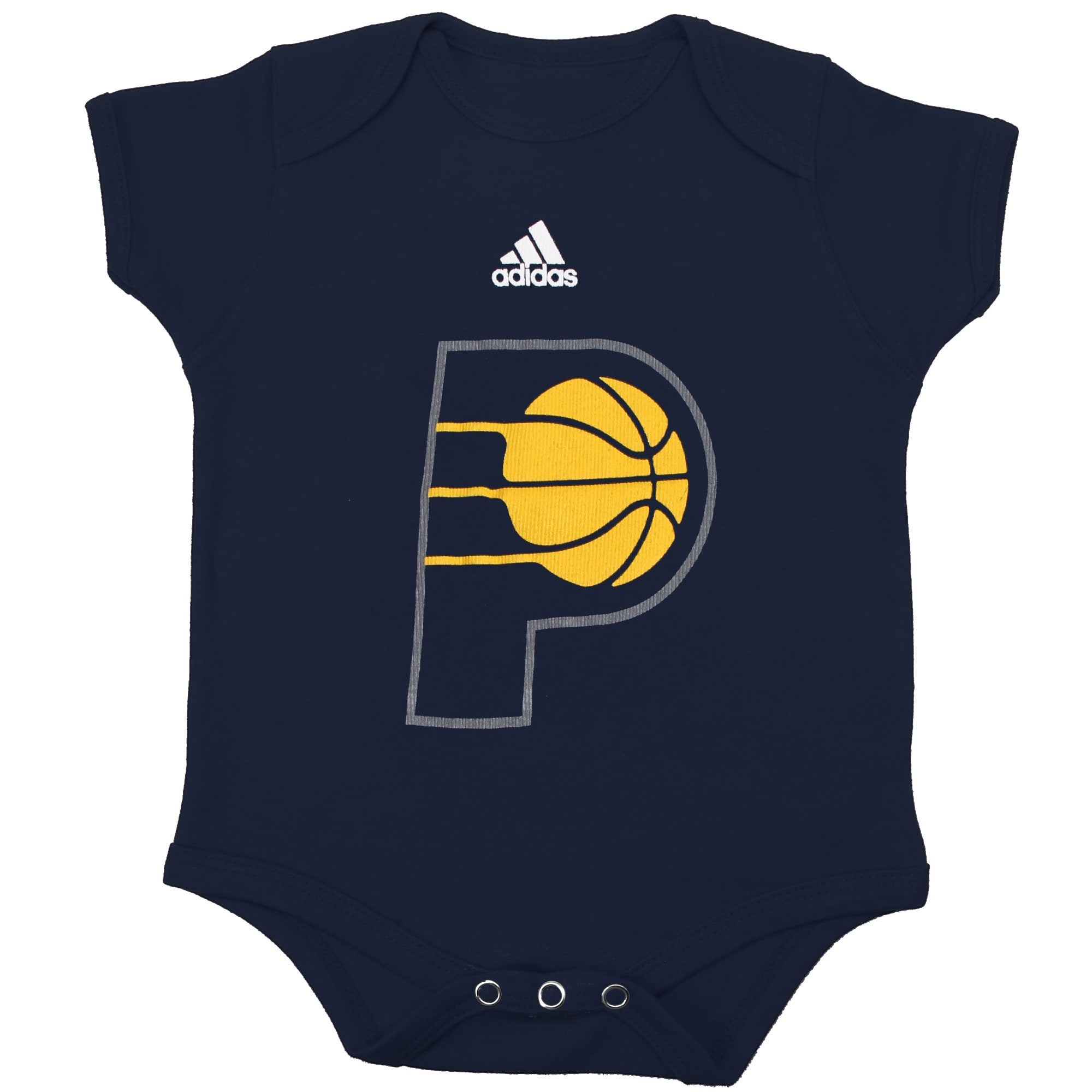 Indiana Pacers adidas Newborn Primary Logo Bodysuit - Navy