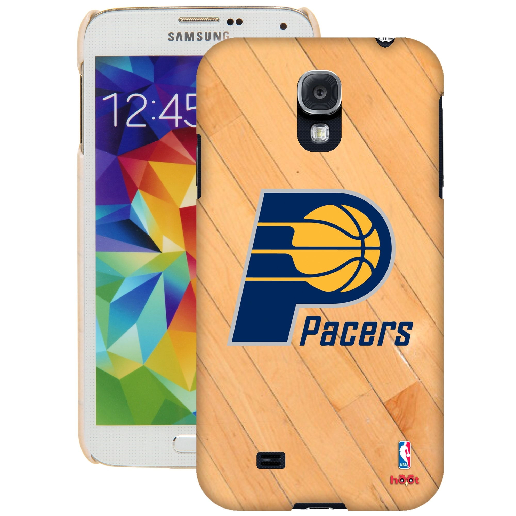 Indiana Pacers Galaxy S5 Hardwood Court Case