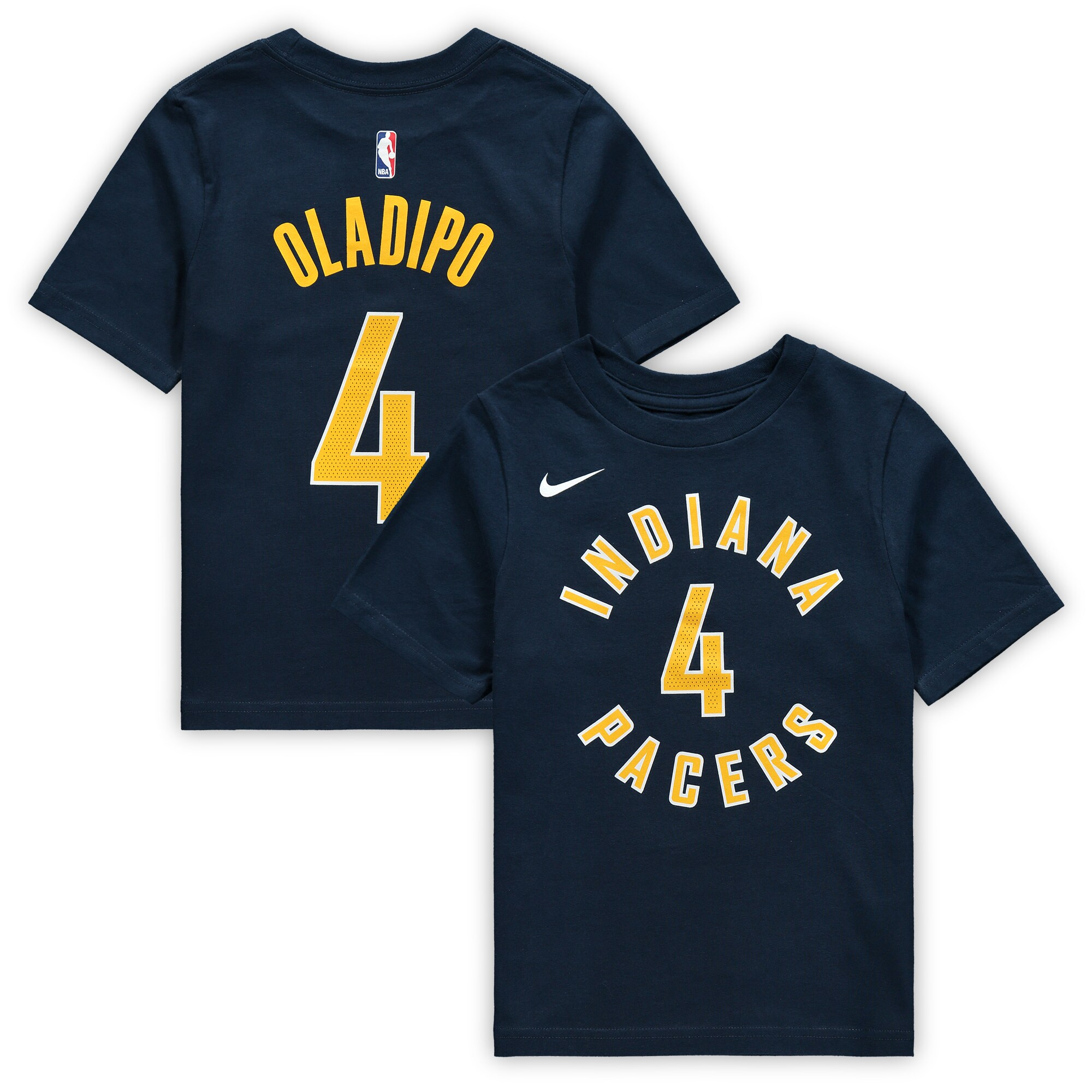 Victor Oladipo Indiana Pacers Nike Preschool Name & Number T-Shirt - Navy