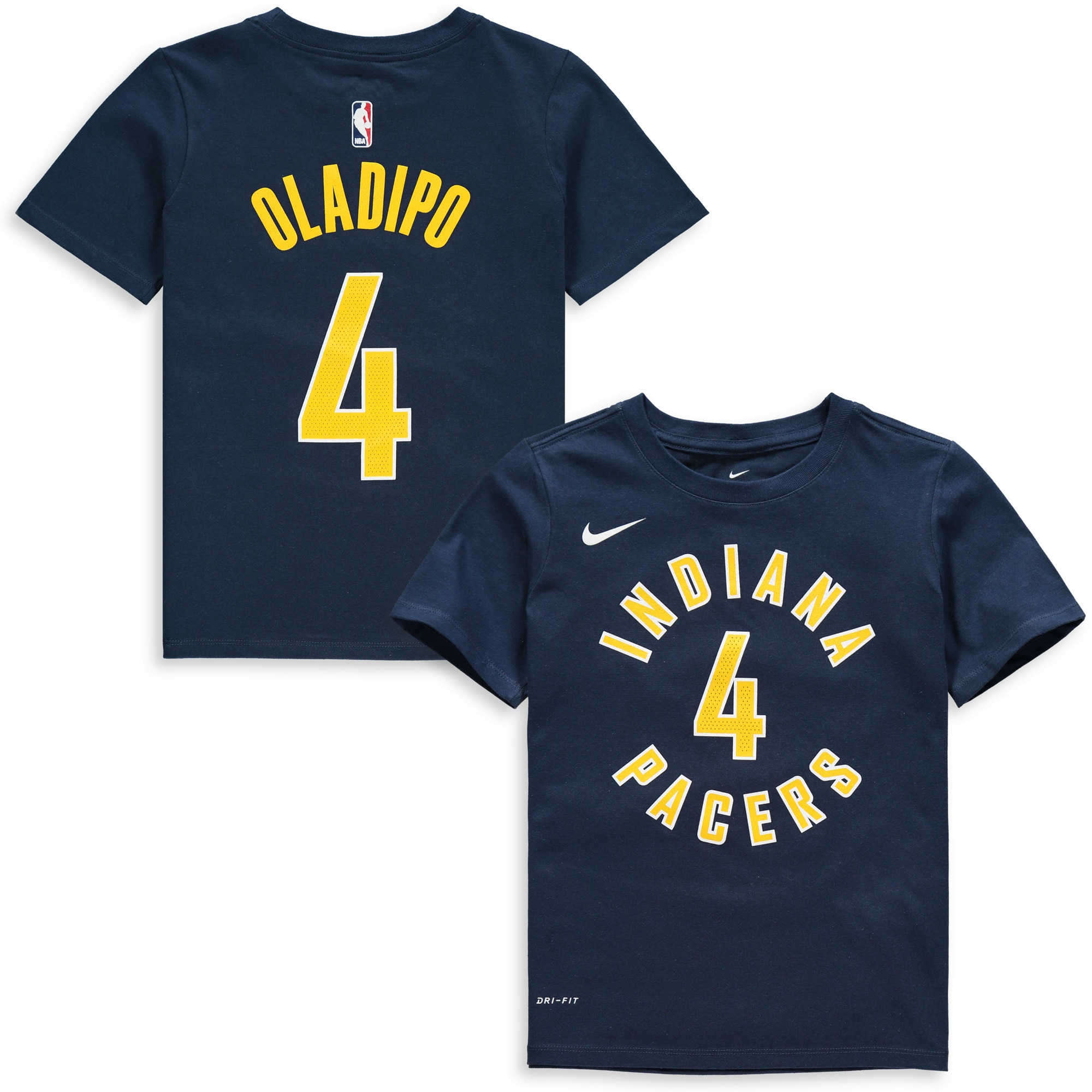 Victor Oladipo Indiana Pacers Nike Youth Name & Number Performance T-Shirt - Navy