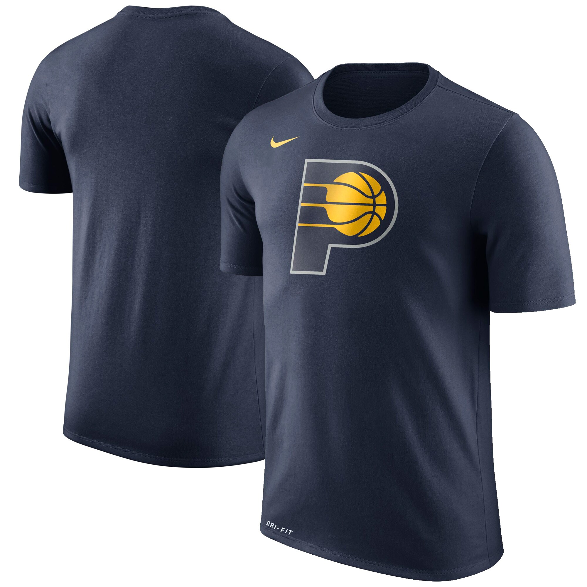 Indiana Pacers Nike Logo T-Shirt - Navy