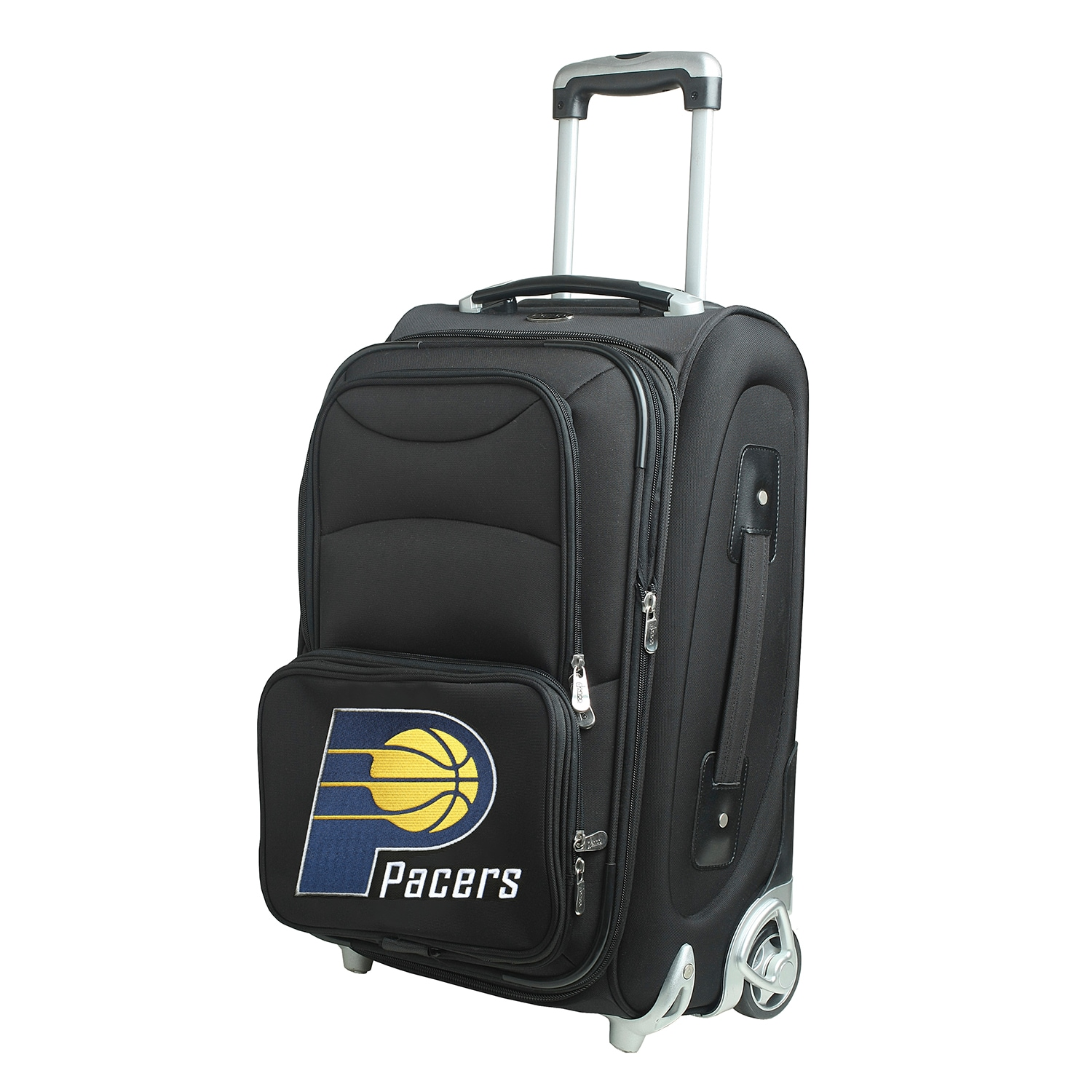 """Indiana Pacers 21"""" Rolling Carry-On Suitcase"""
