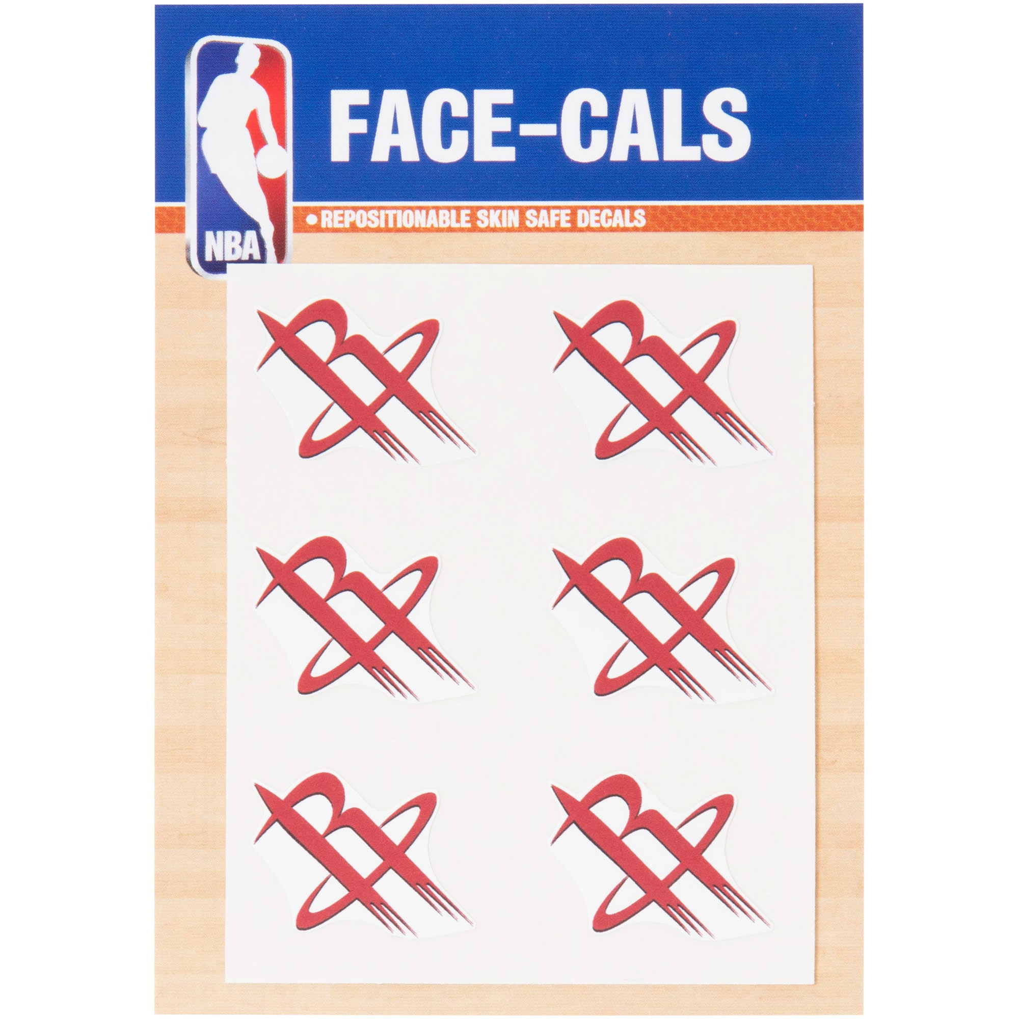 "Houston Rockets 3""x 5"" Mini Decal Set"
