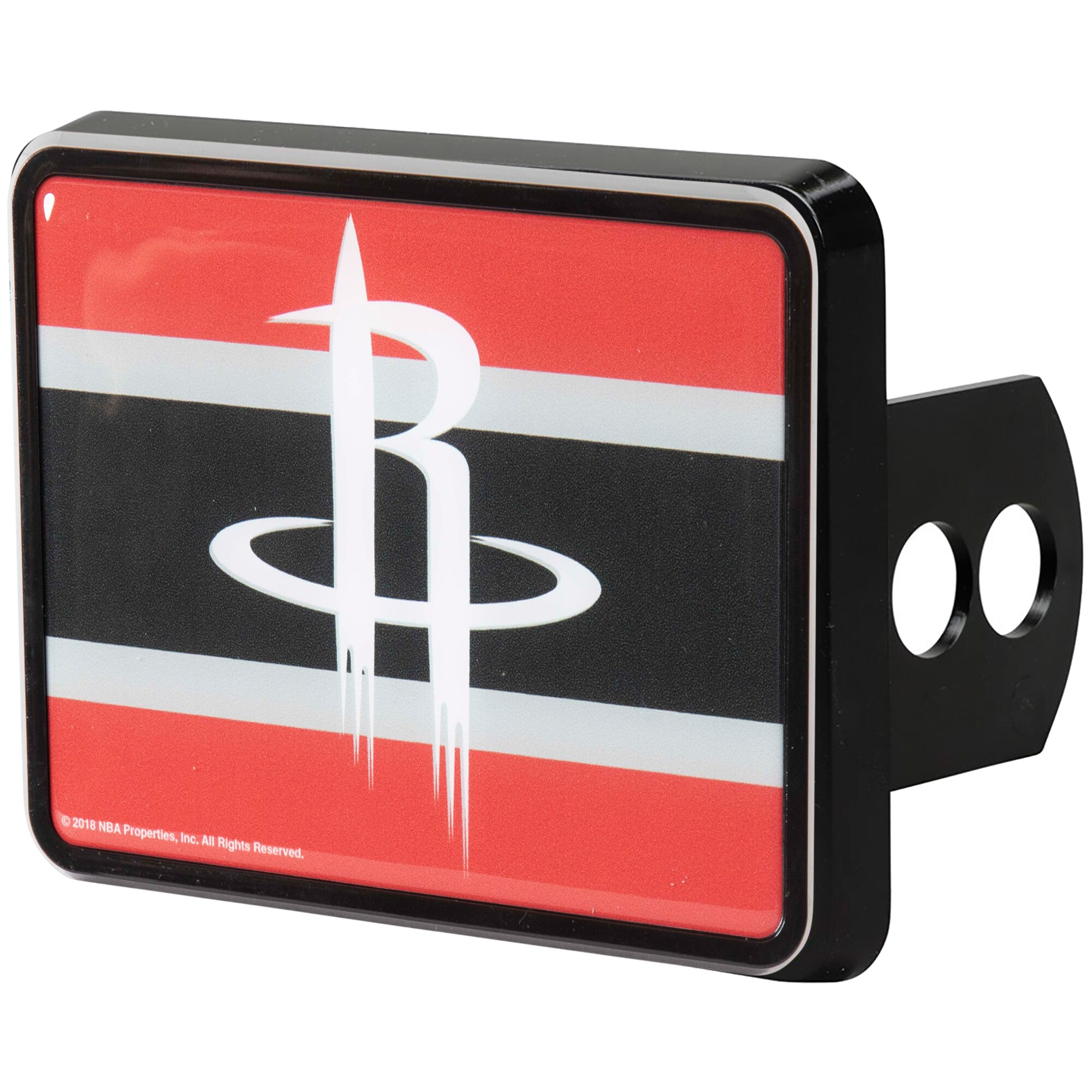 Houston Rockets Universal Rectangle Hitch Cover