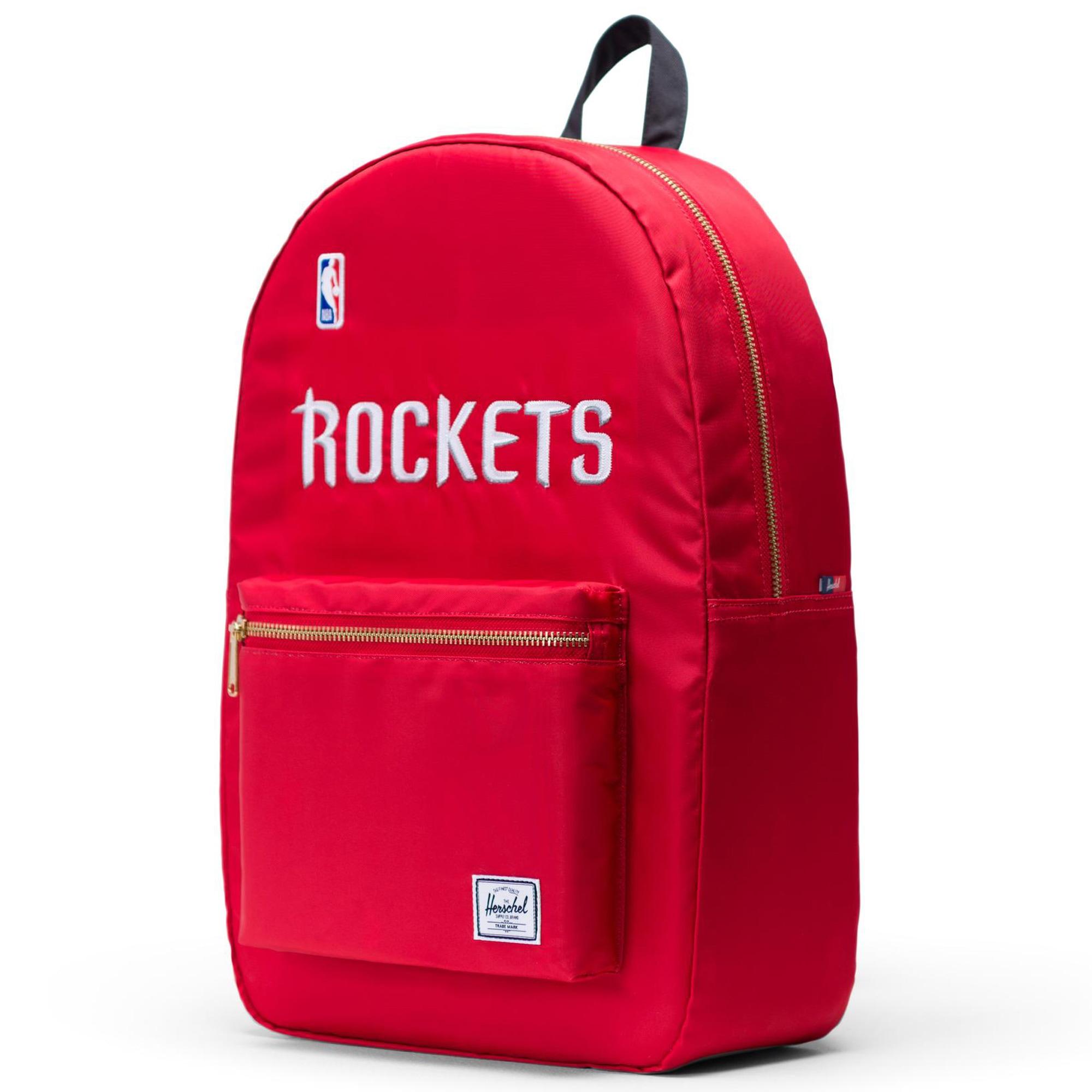Houston Rockets Herschel Supply Co. Settlement Satin Backpack