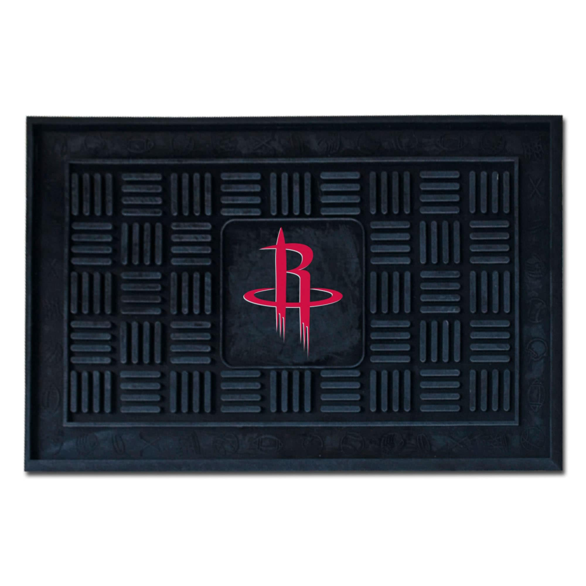 "Houston Rockets 19.5"" x 31.25"" Medallion Door Mat"