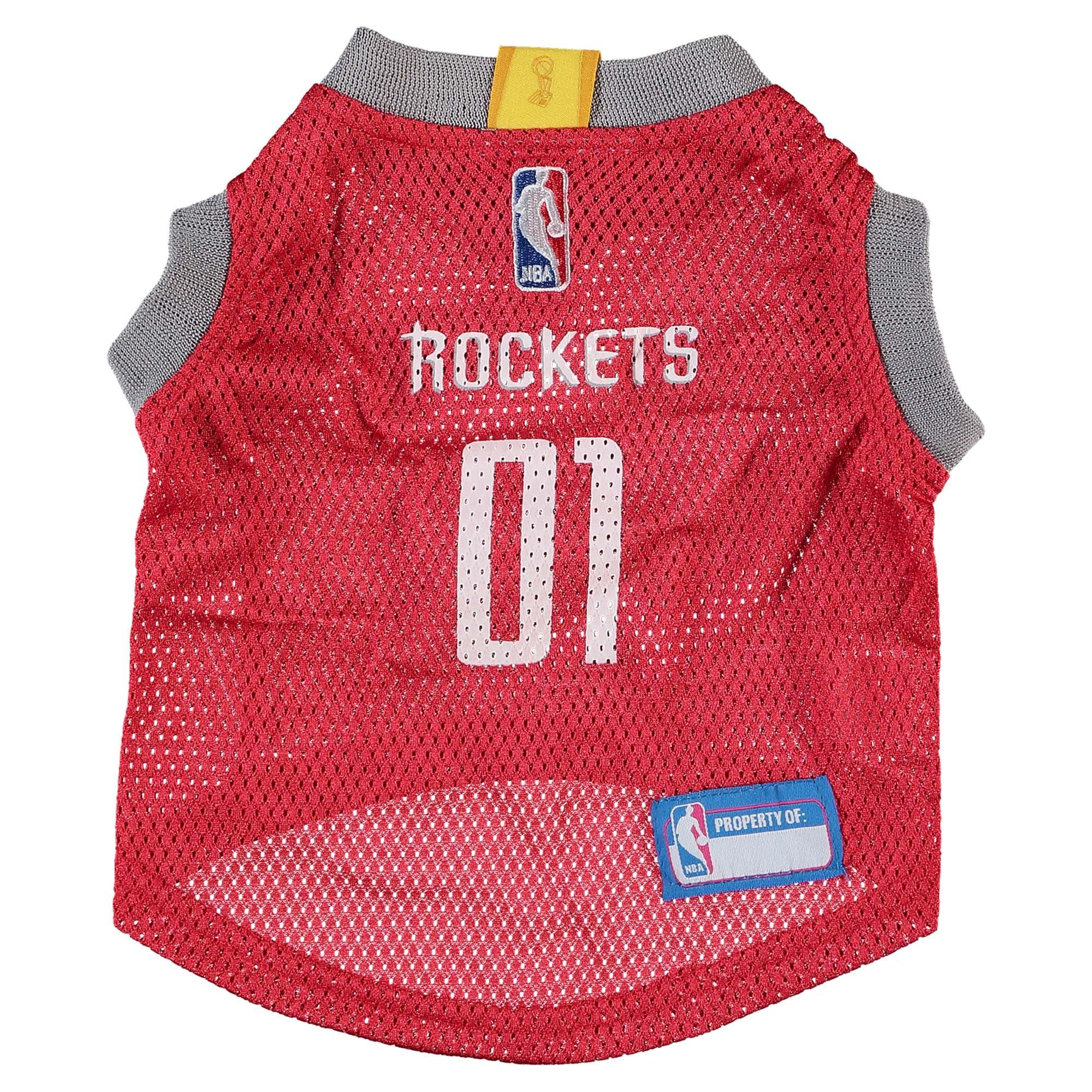 Houston Rockets Mesh Dog Basketball Jersey