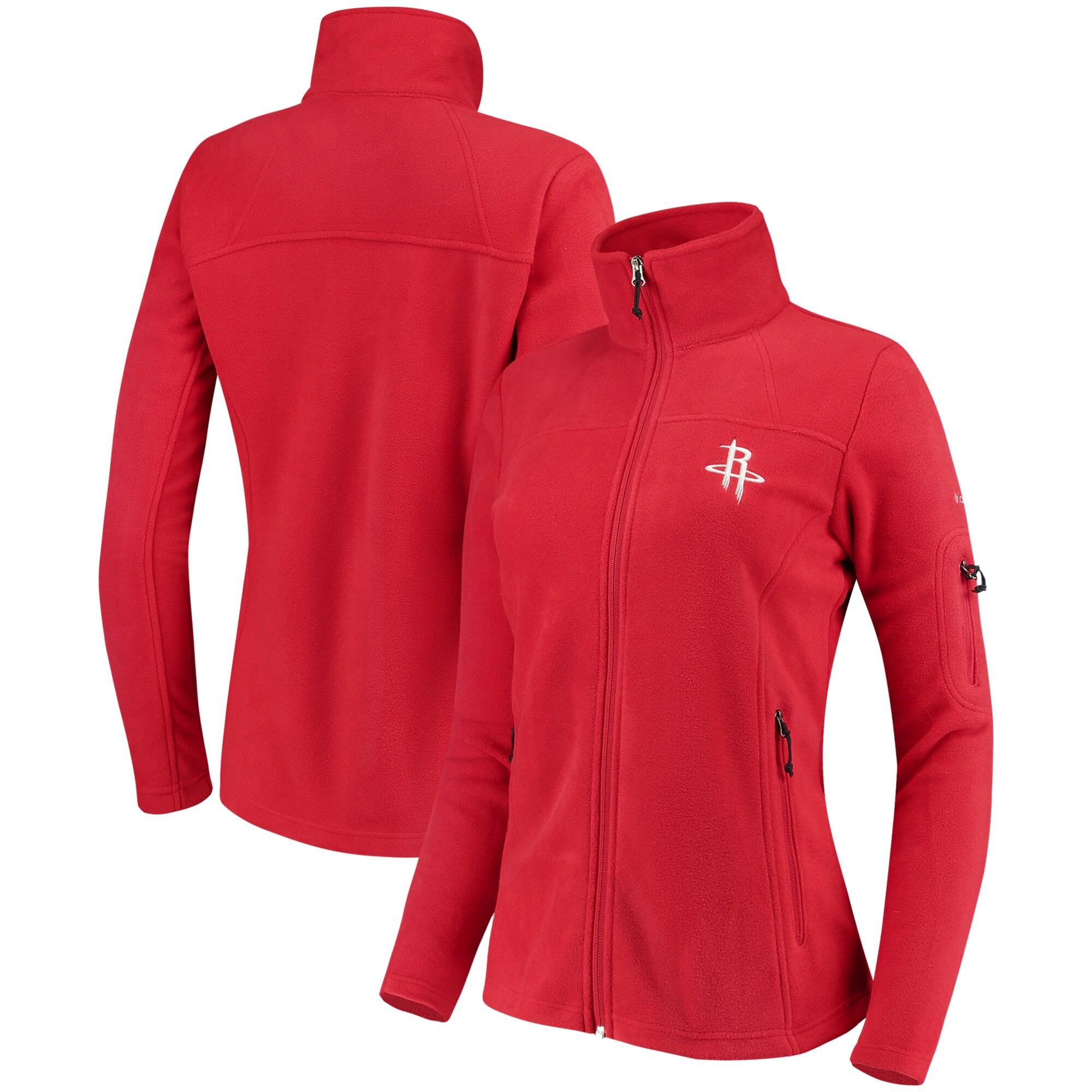 Houston Rockets Columbia Women's Give & Go Full-Zip Jacket - Red