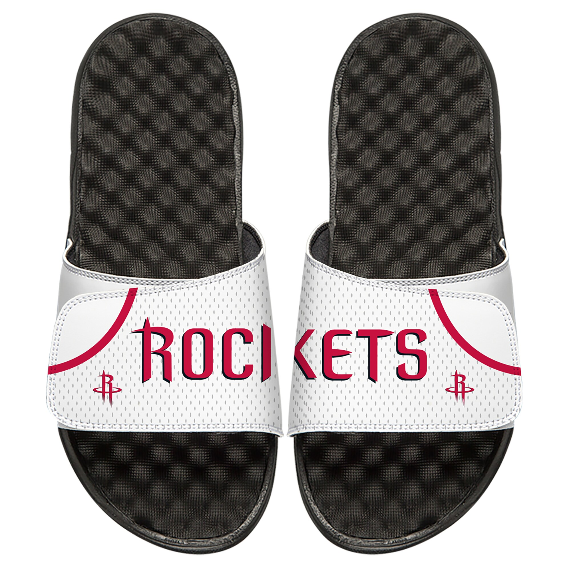Houston Rockets ISlide Youth Home Jersey Slide Sandals - White