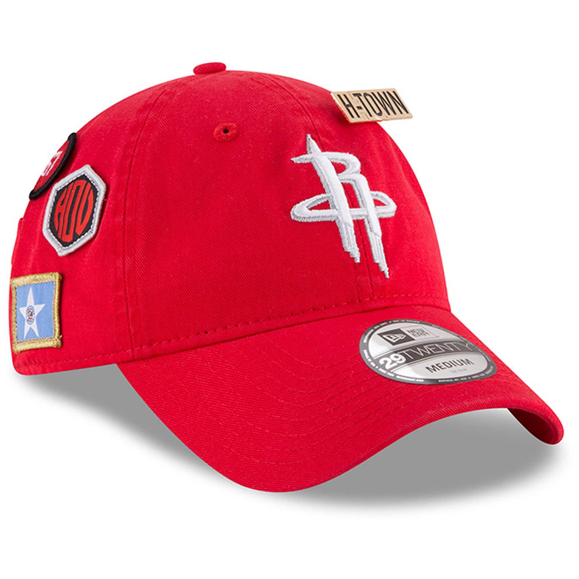 Houston Rockets New Era 2018 Draft 29TWENTY Fitted Hat - Red
