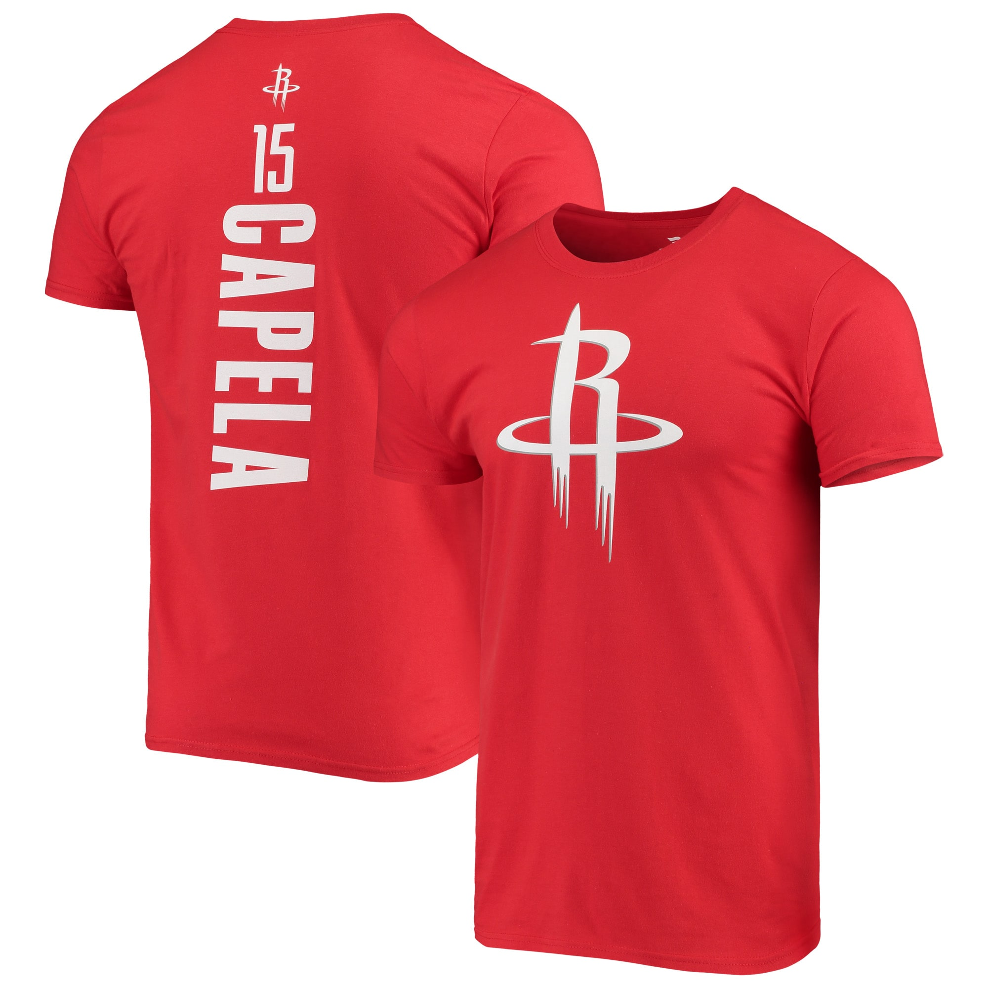 Clint Capela Houston Rockets Fanatics Branded Team Playmaker Name & Number T-Shirt - Red