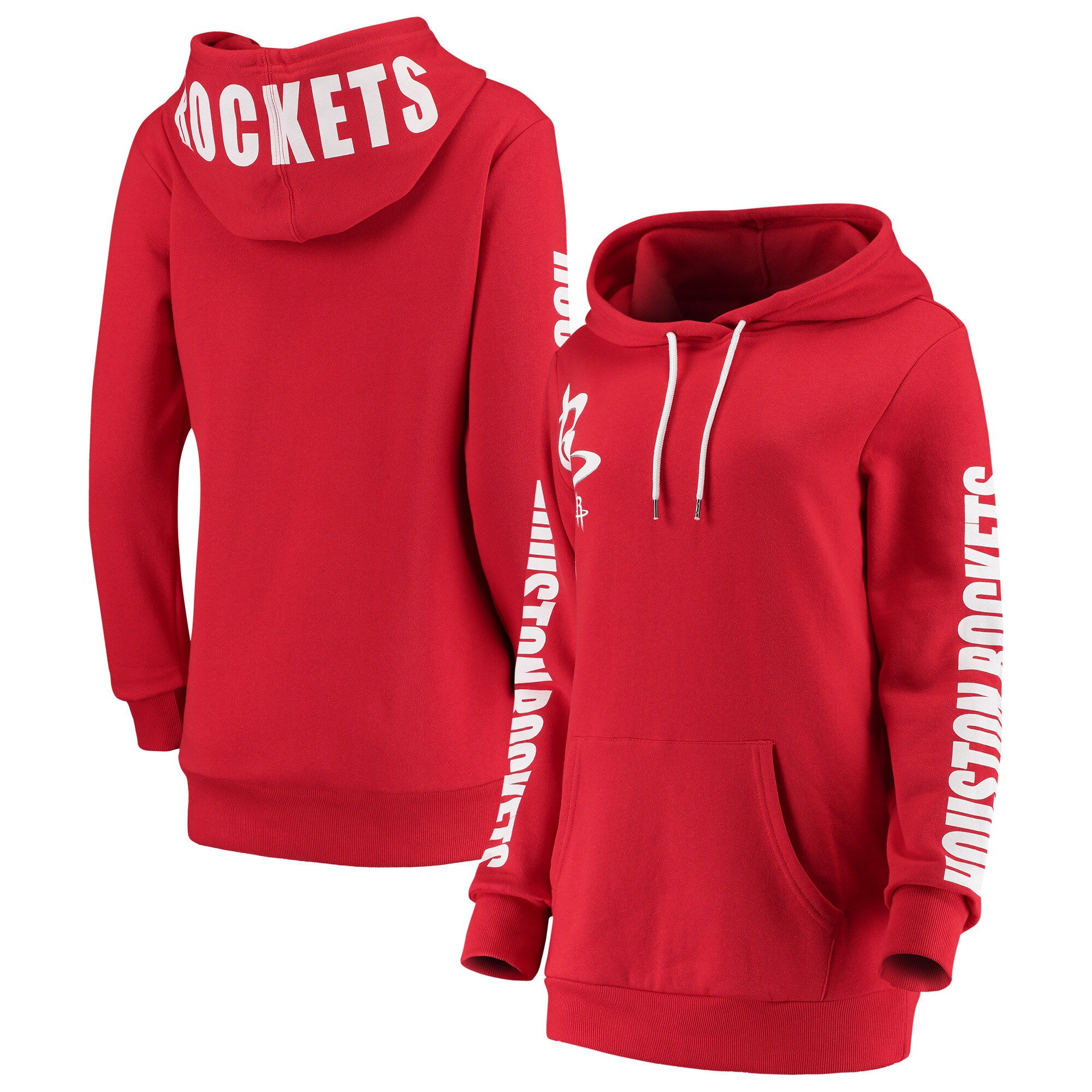 Houston Rockets G-III 4Her by Carl Banks Women's Overtime Pullover Hoodie - Red