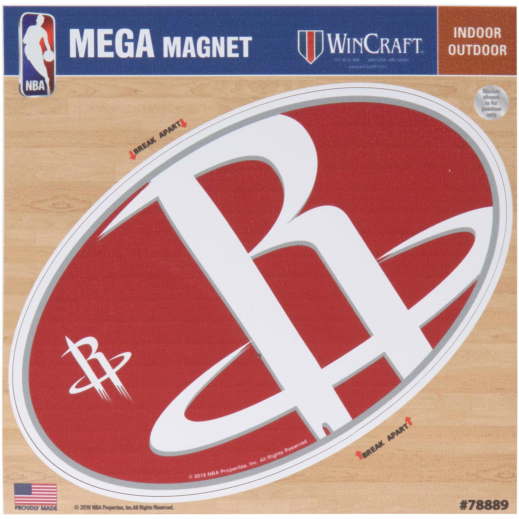"Houston Rockets 6"" x 6"" Mega Magnet"
