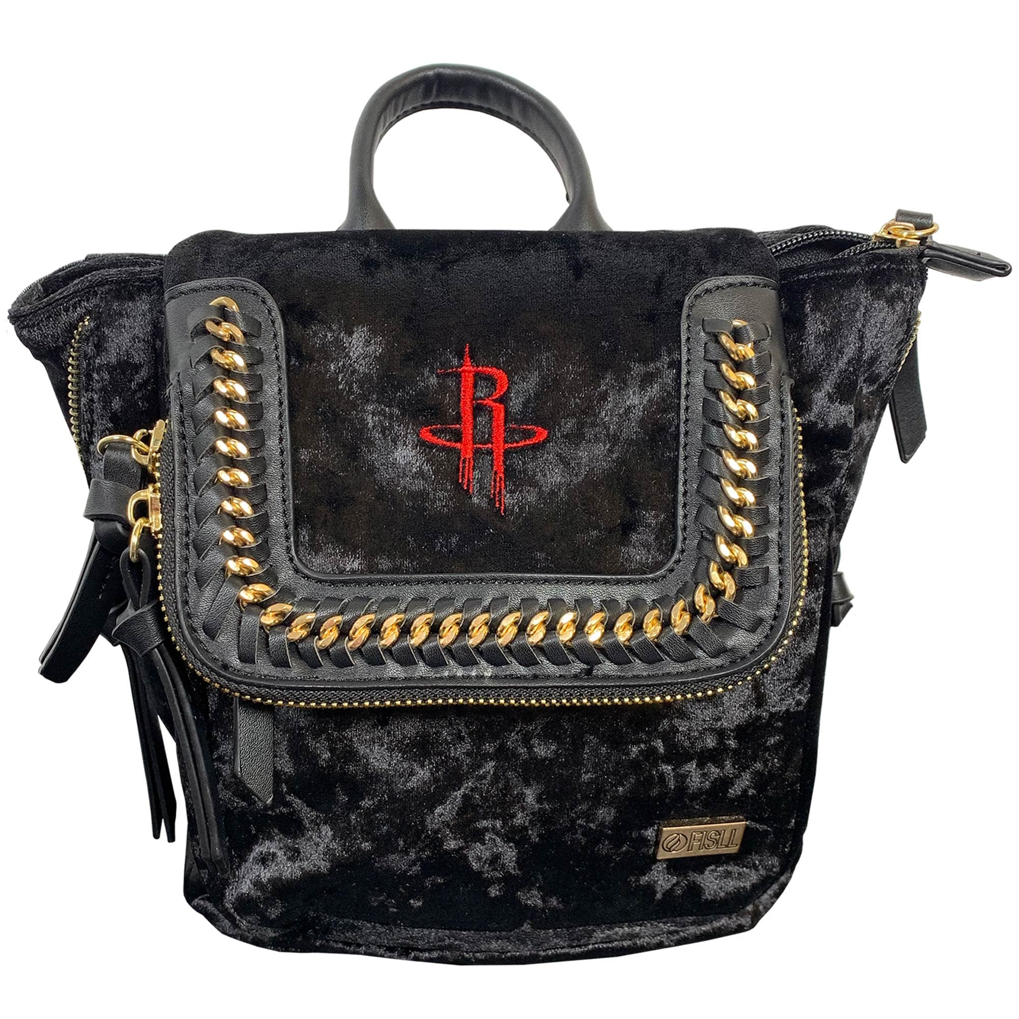 Houston Rockets Velvet Mini Backpack