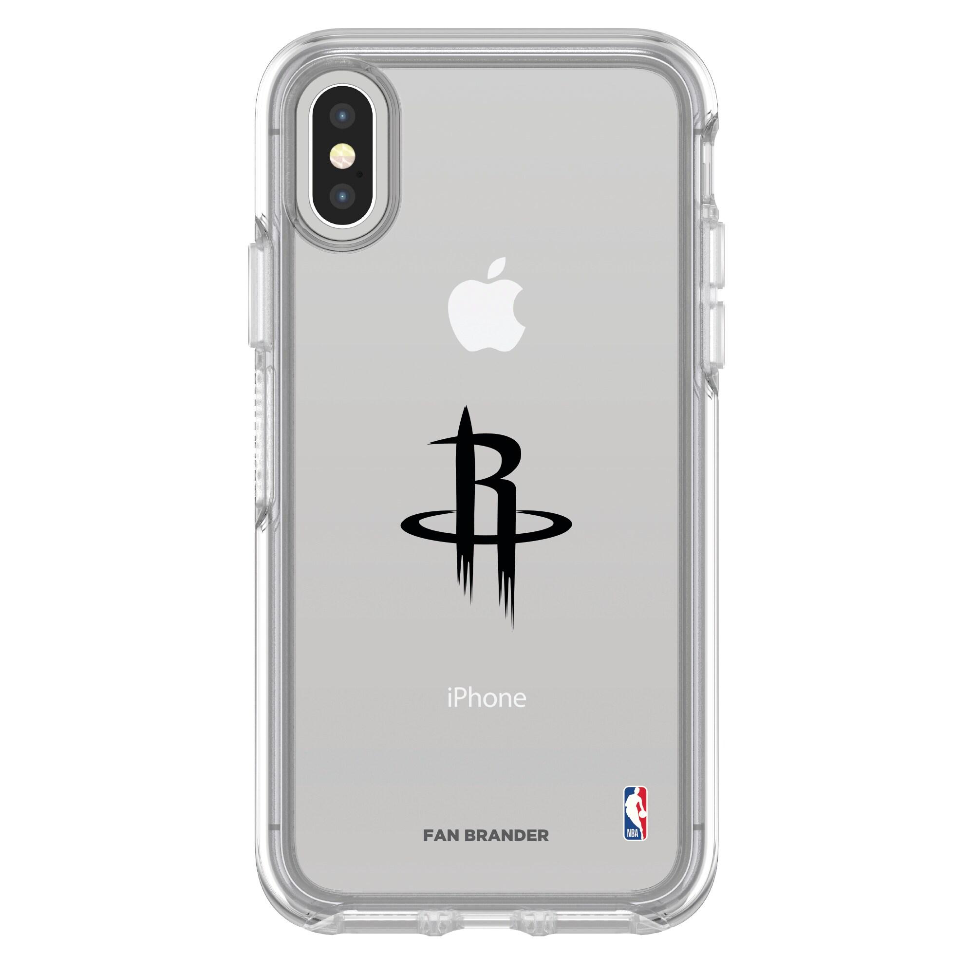 Houston Rockets OtterBox Clear iPhone Symmetry Case