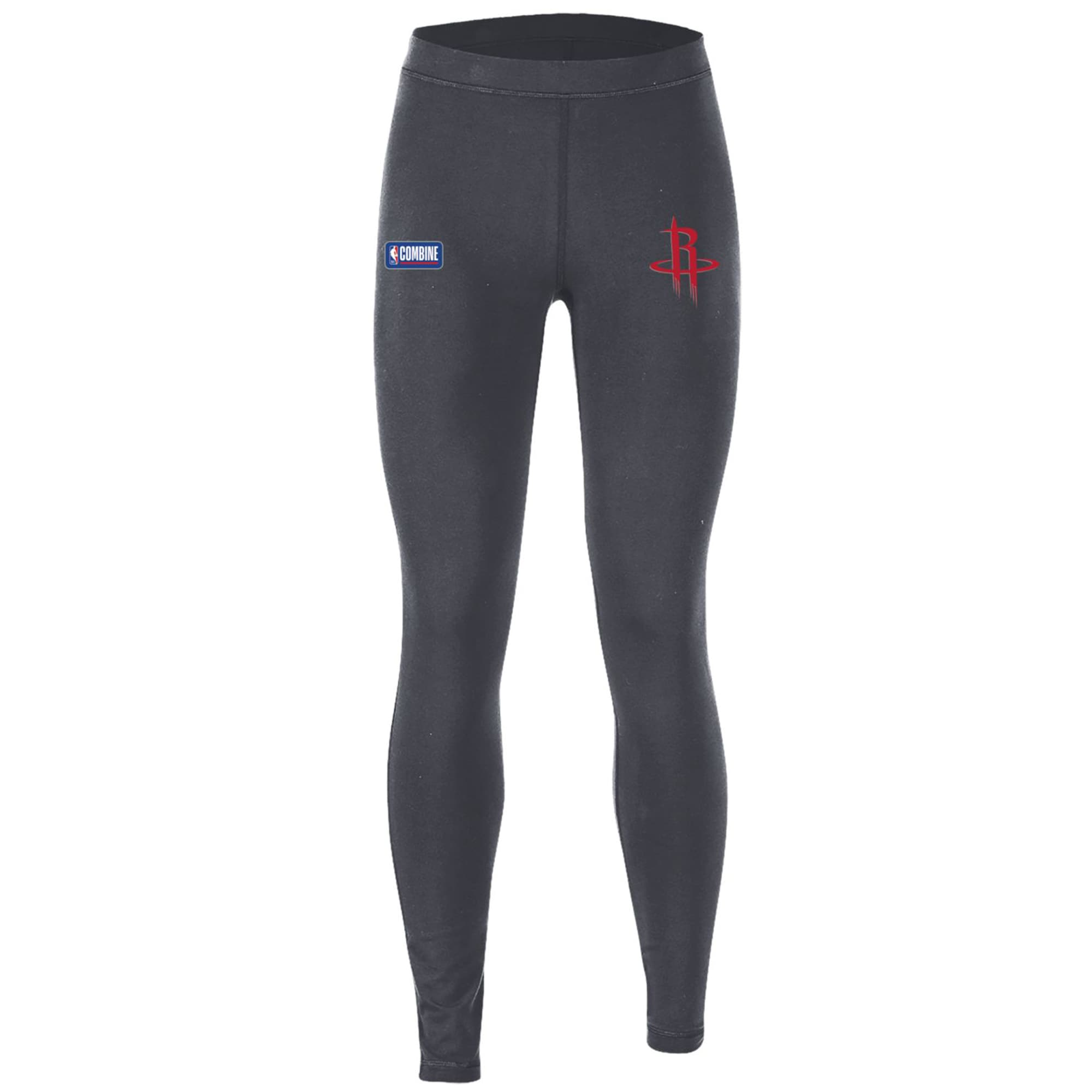 Houston Rockets Under Armour Women's Combine Authentic Favorites Performance Leggings - Heathered Charcoal