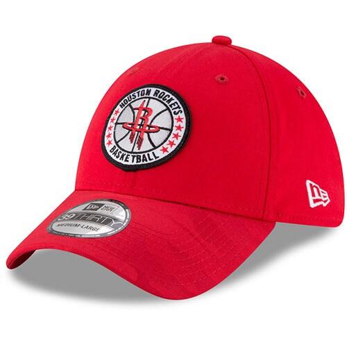 Houston Rockets New Era 2018 Tip Off Series 39THIRTY Flex Hat - Red