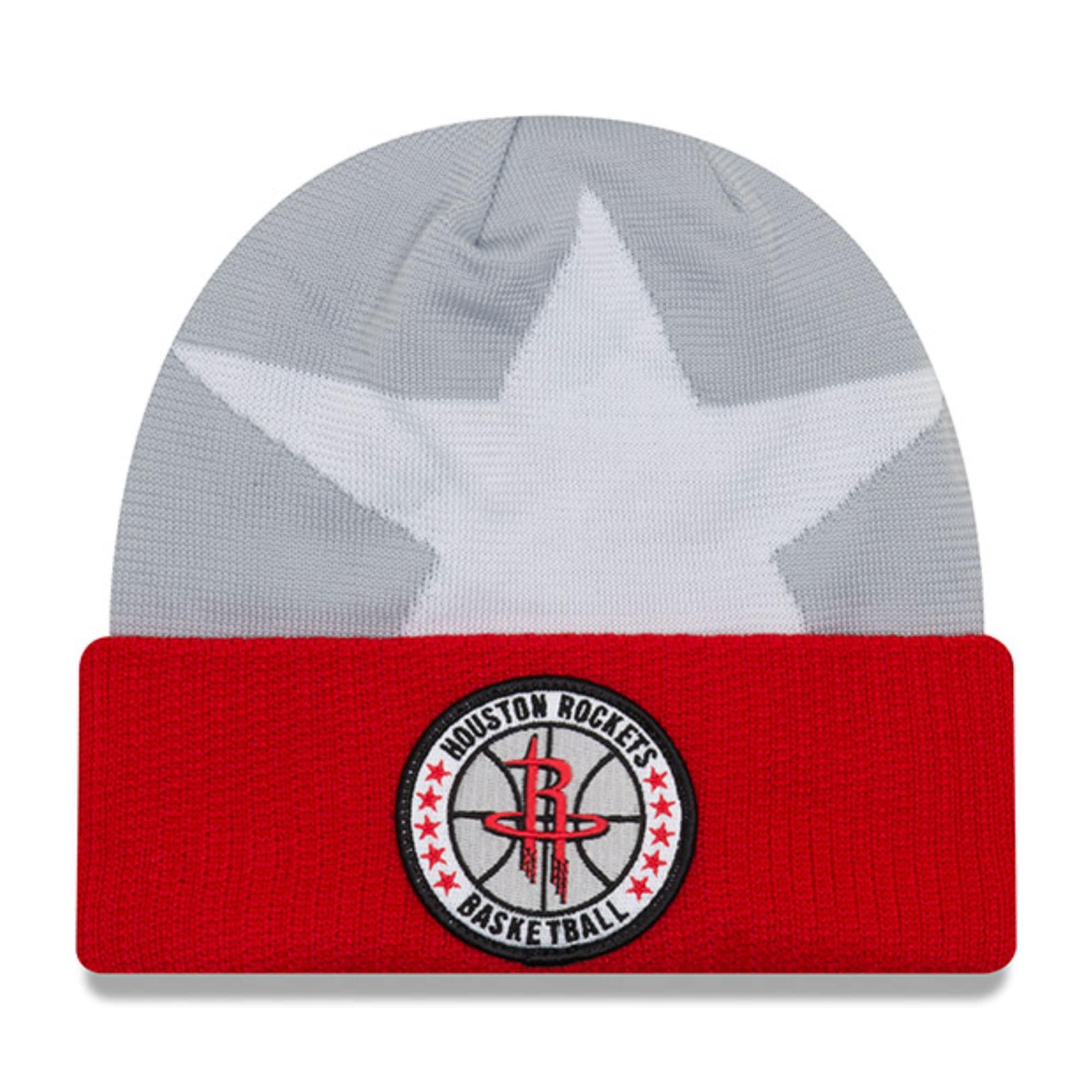Houston Rockets New Era 2018 Tip Off Series Cuffed Knit Hat - Gray