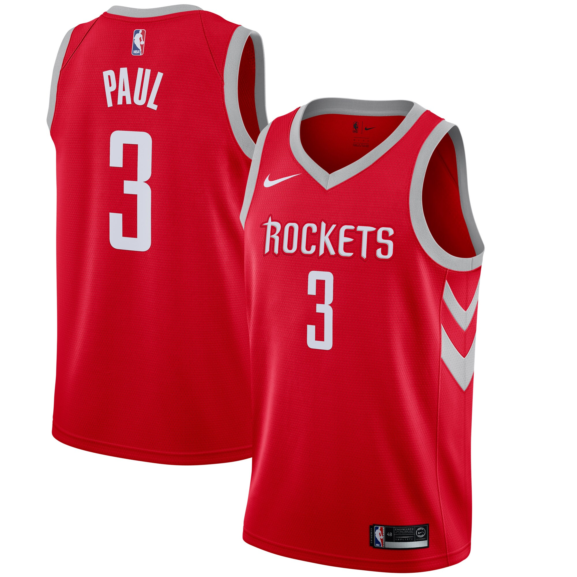 Chris Paul Houston Rockets Nike Swingman Jersey - Icon Edition - Red