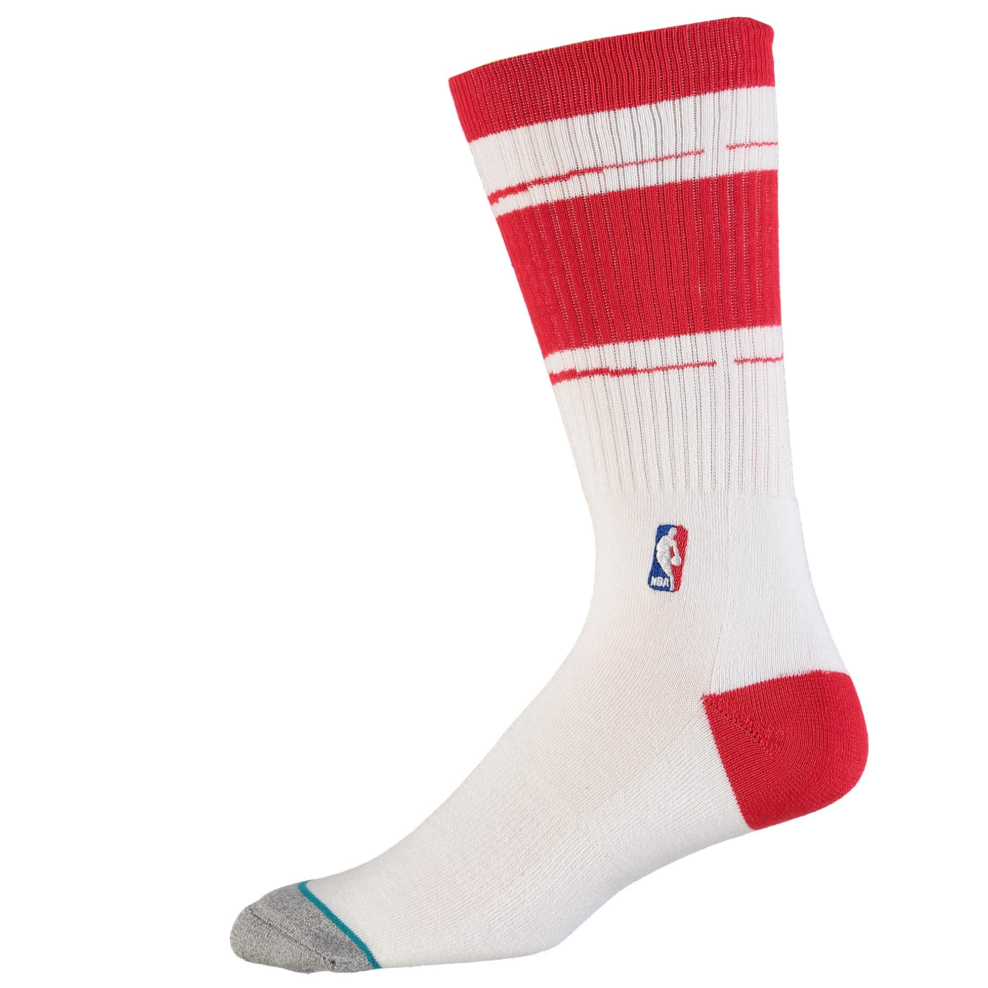 Houston Rockets Stance Arena Core Socks - White