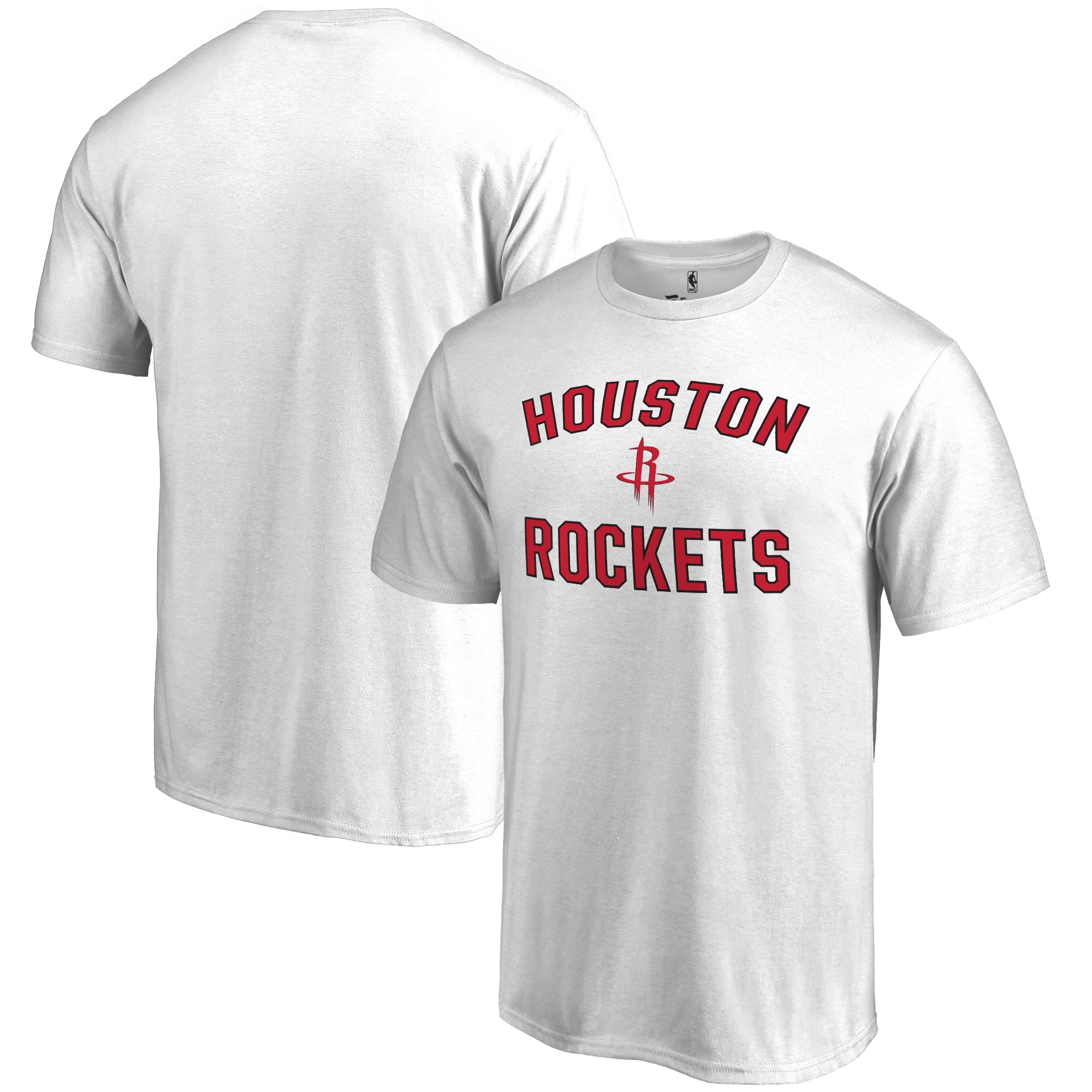 Houston Rockets Big & Tall Victory Arch T-Shirt - White