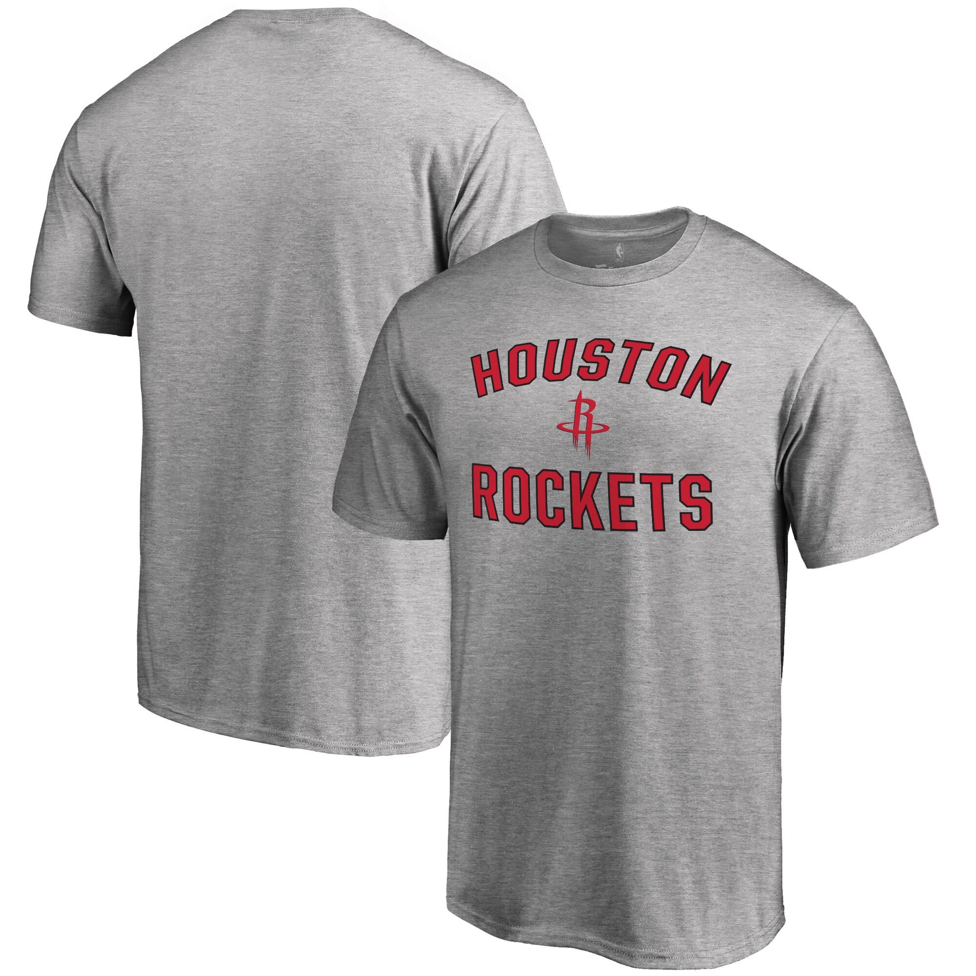 Houston Rockets Big & Tall Victory Arch T-Shirt - Ash