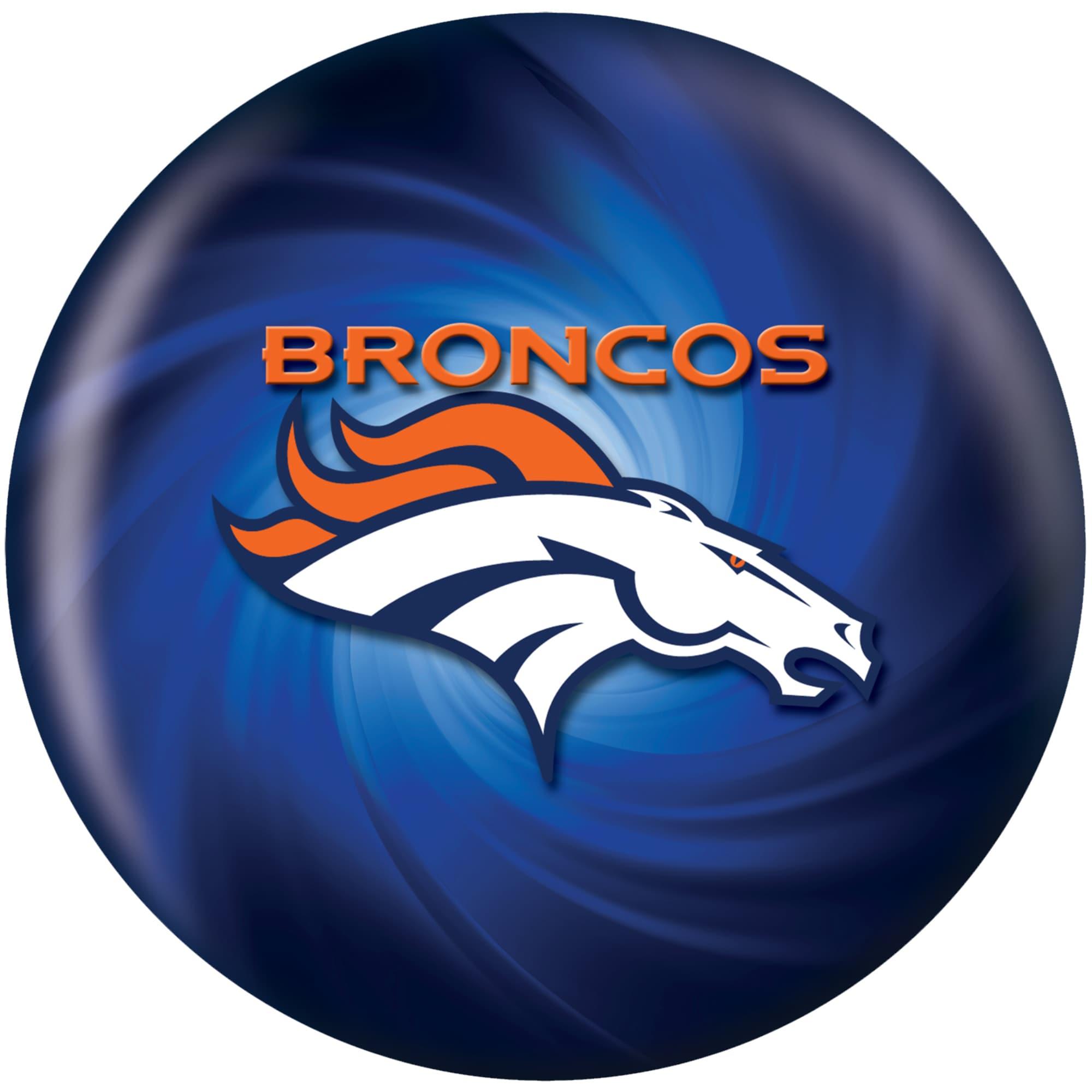 Denver Broncos Bowling Ball