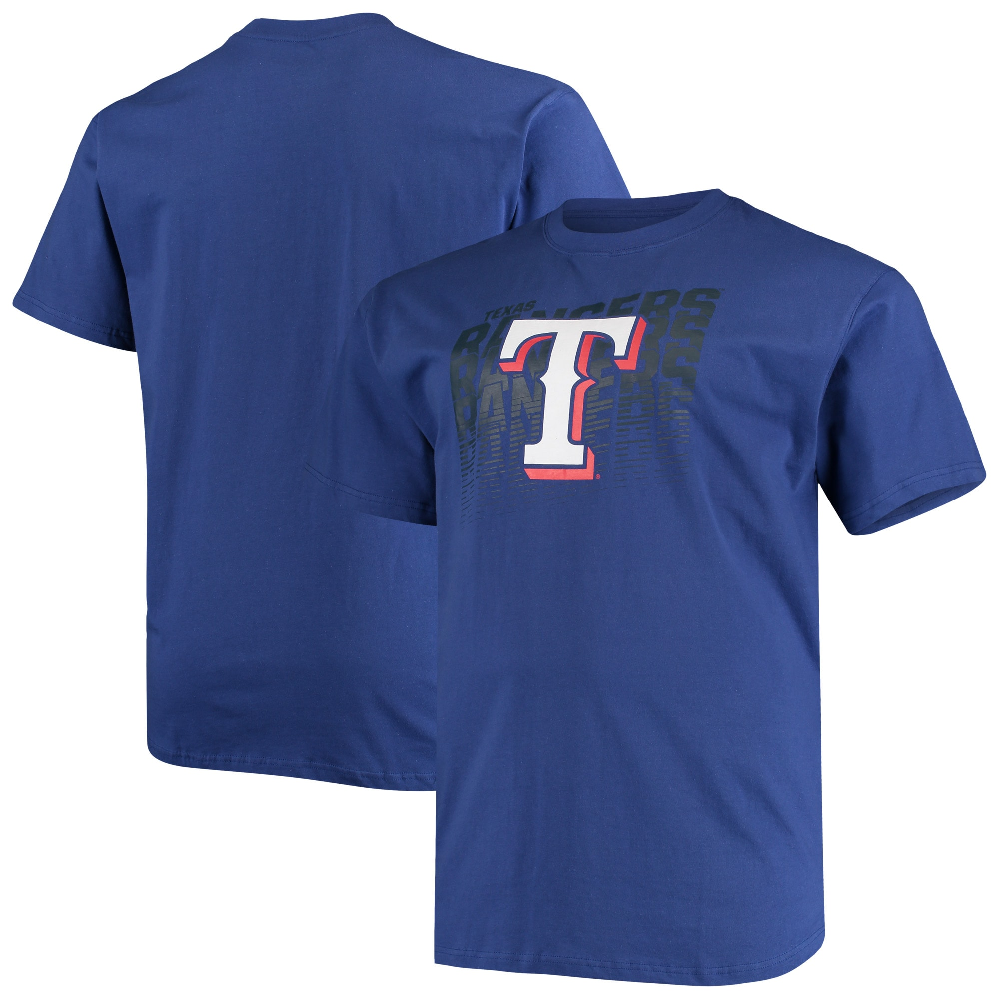 Texas Rangers Big & Tall Open Opportunity Alternate T-Shirt - Royal