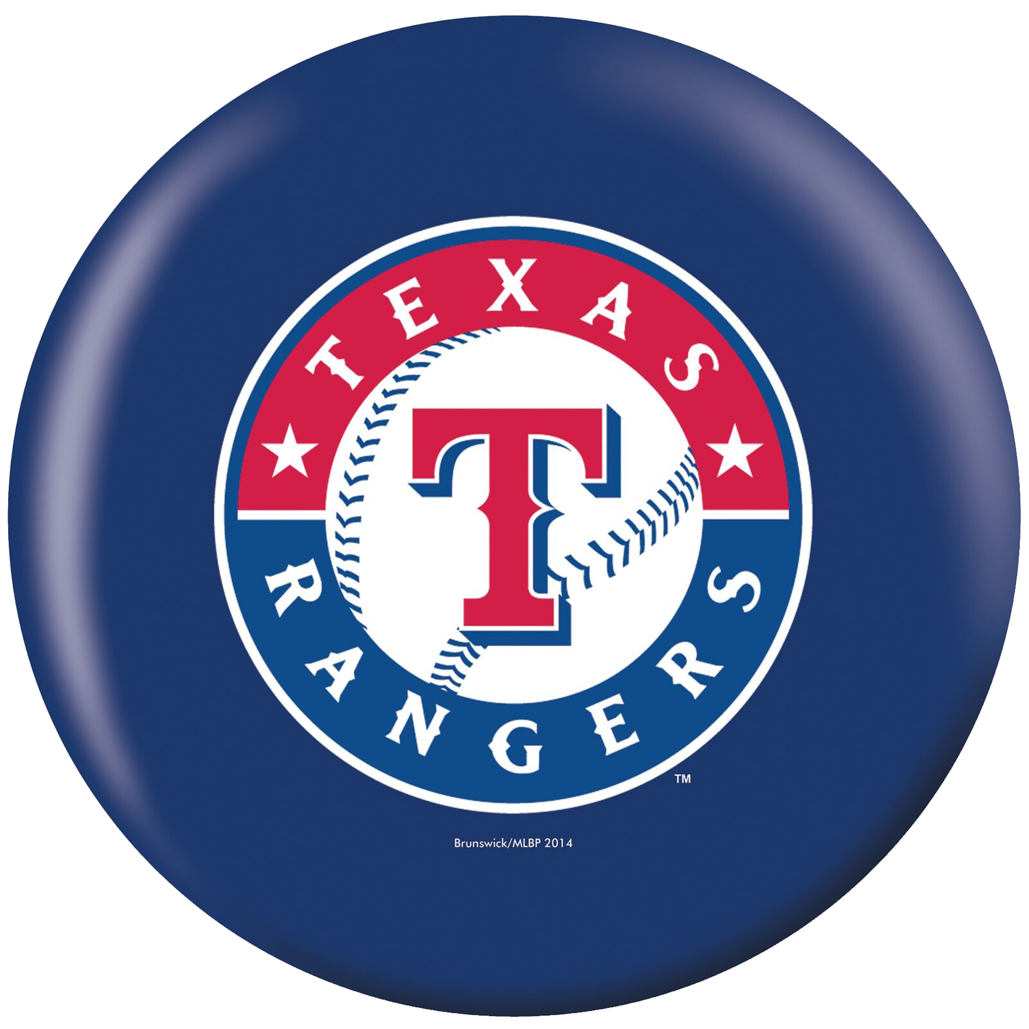 Texas Rangers Bowling Ball