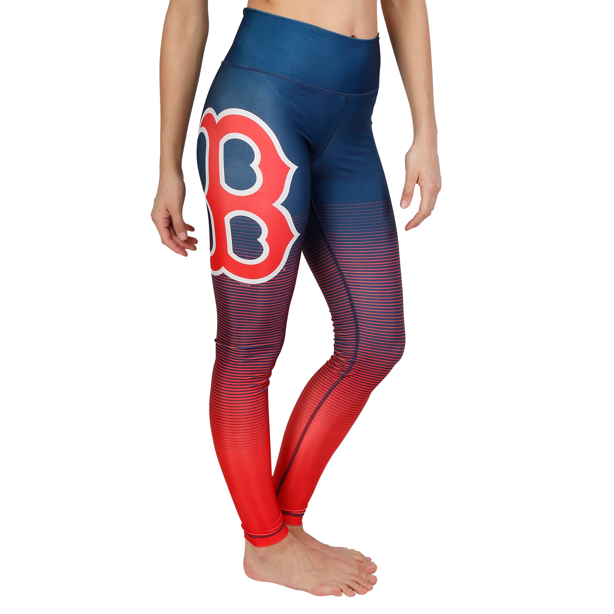 Boston Red Sox Concepts Sport Women's Fringe Sublimated Leggings - Navy/Red