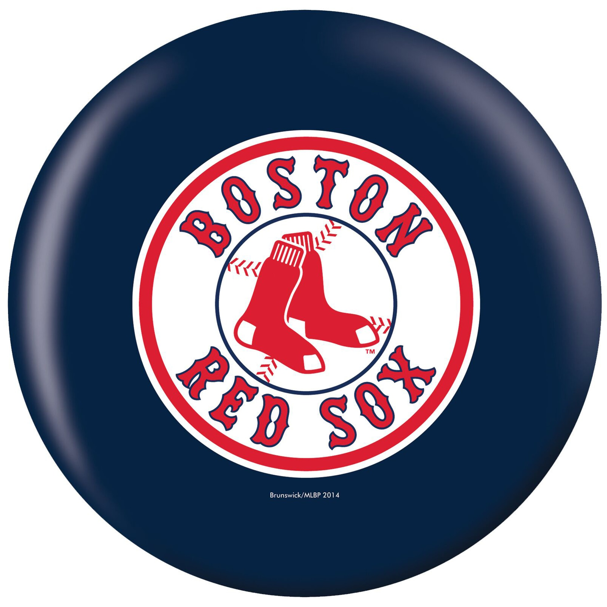Boston Red Sox Bowling Ball