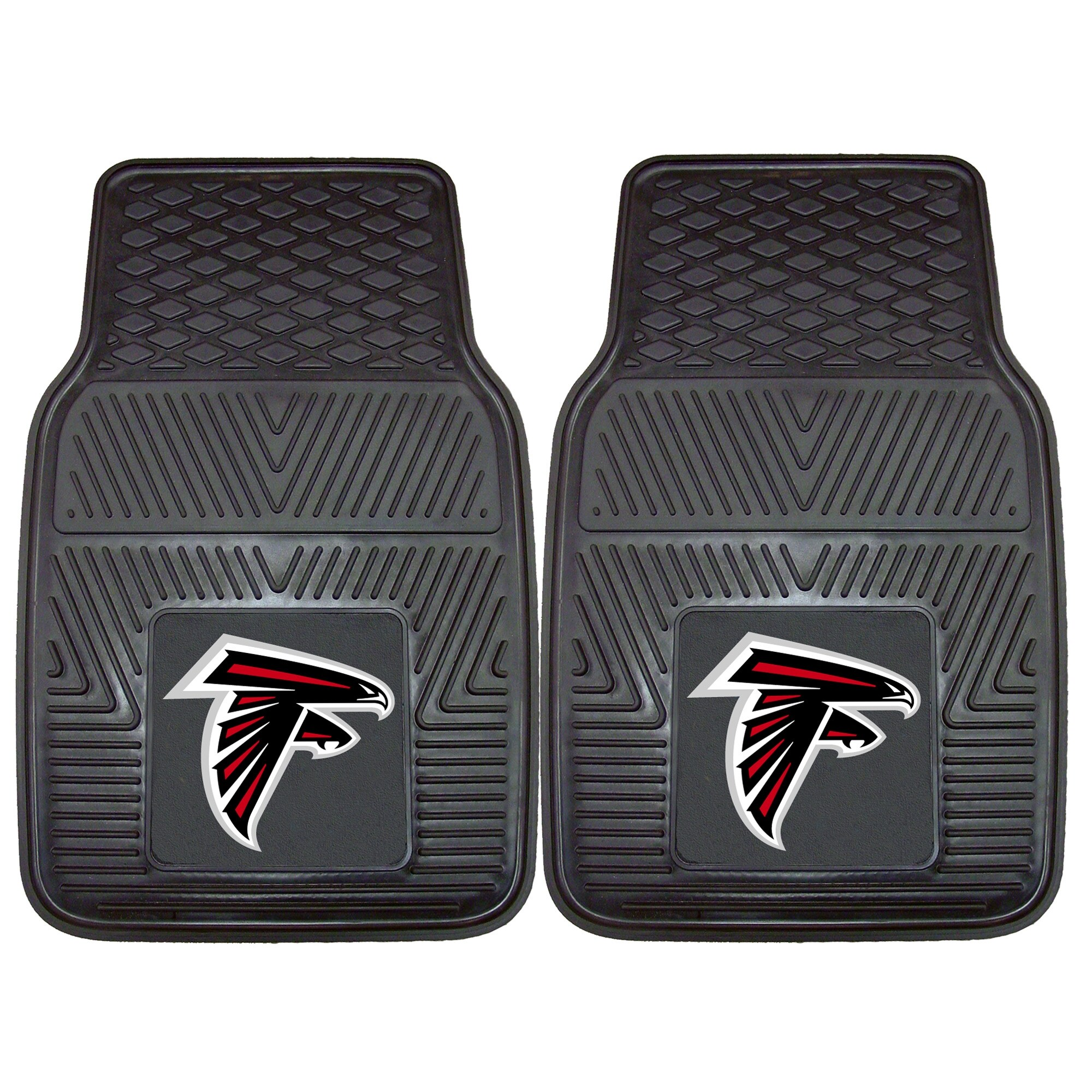 "Atlanta Falcons 27"" x 18"" 2-Pack Vinyl Car Mat Set"