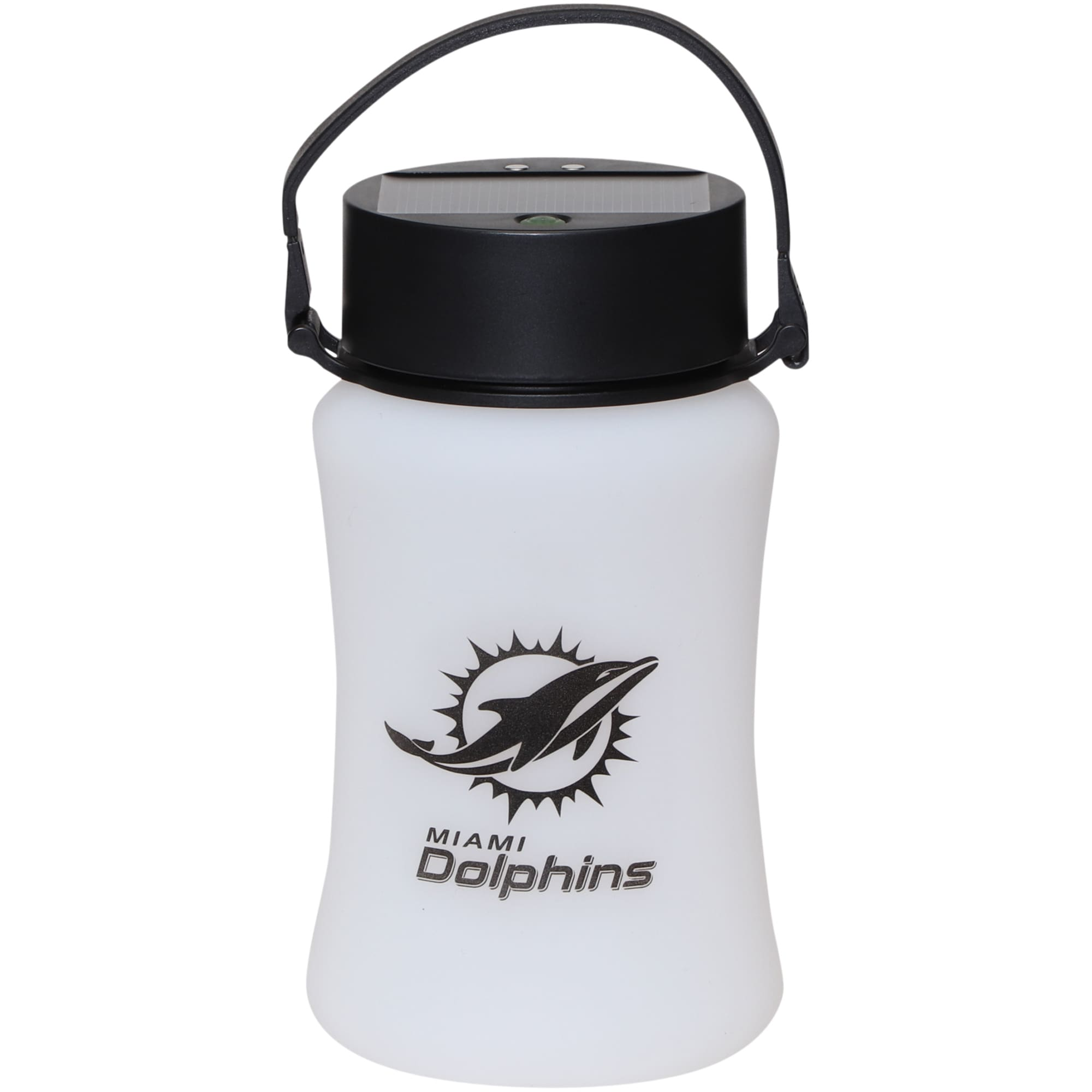 Miami Dolphins Frosted Silicone Solar Lantern