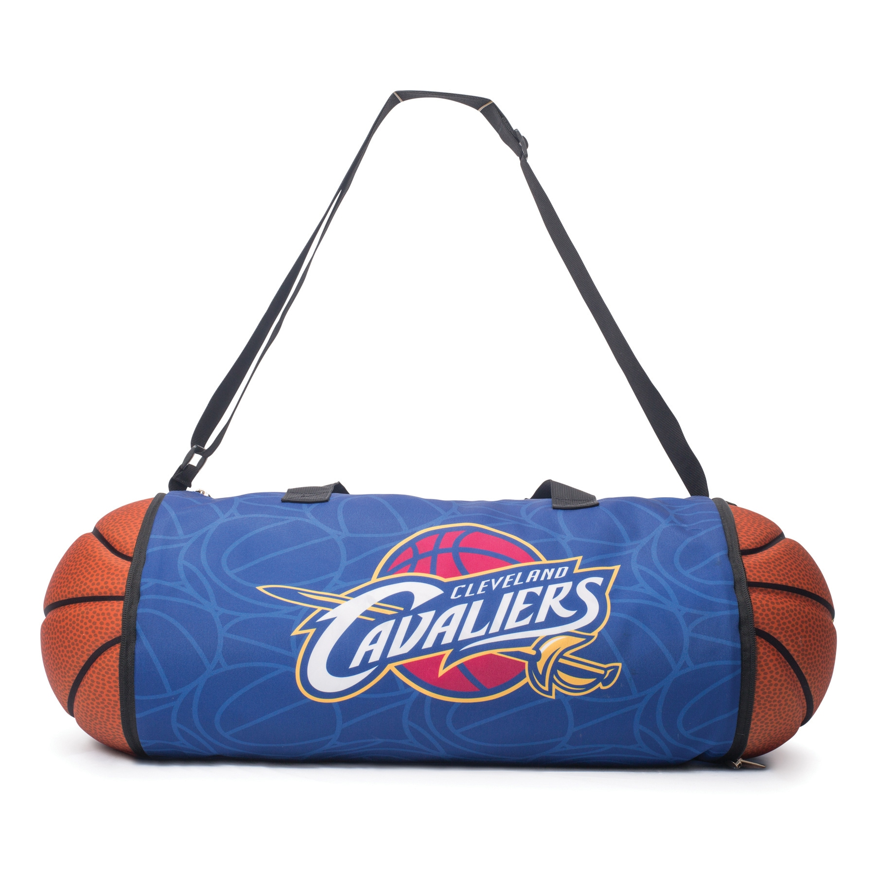 Cleveland Cavaliers Basketball to Duffle Bag