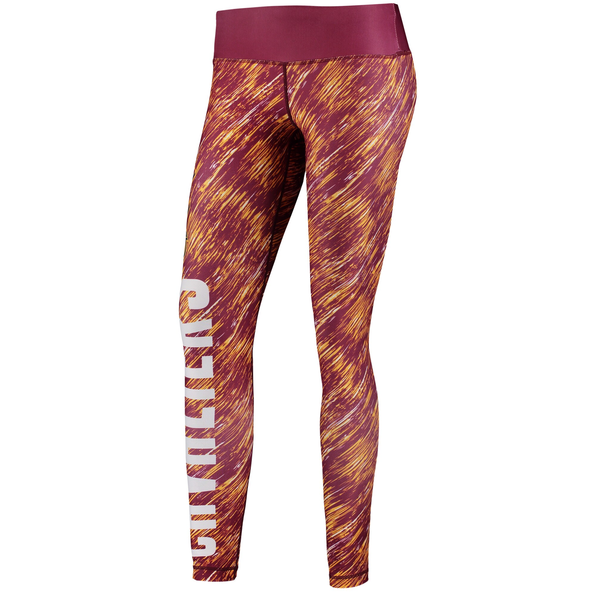 Cleveland Cavaliers Women's Static Rain Leggings - Wine