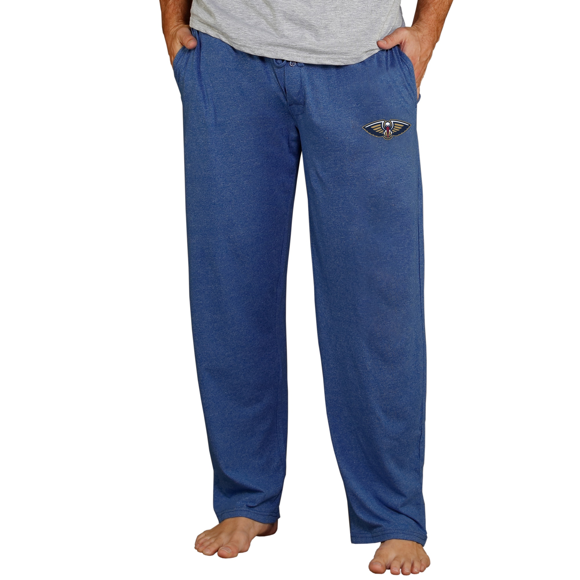 New Orleans Pelicans Concepts Sport Quest Knit Lounge Pants - Navy
