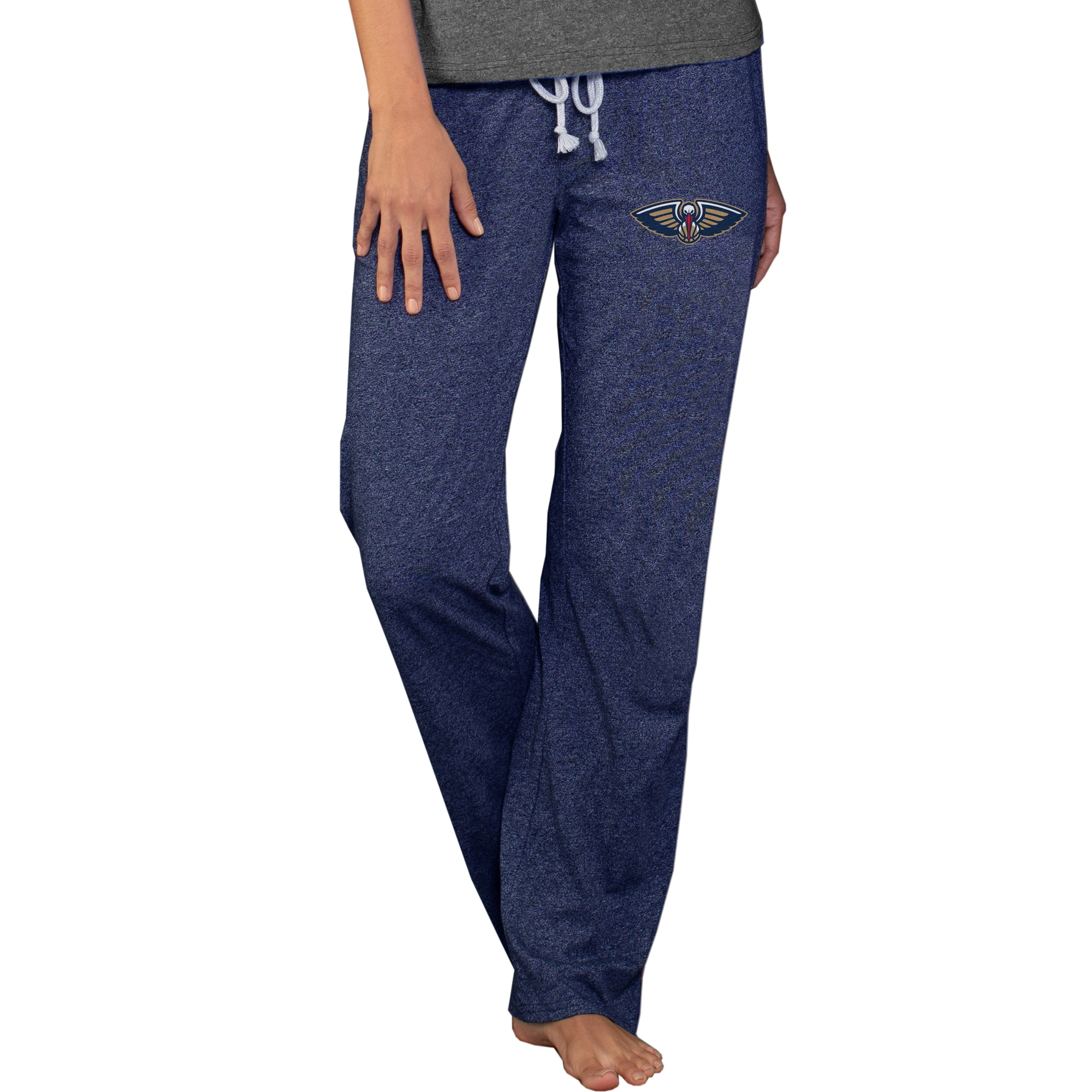 New Orleans Pelicans Concepts Sport Women's Quest Knit Lounge Pants - Navy