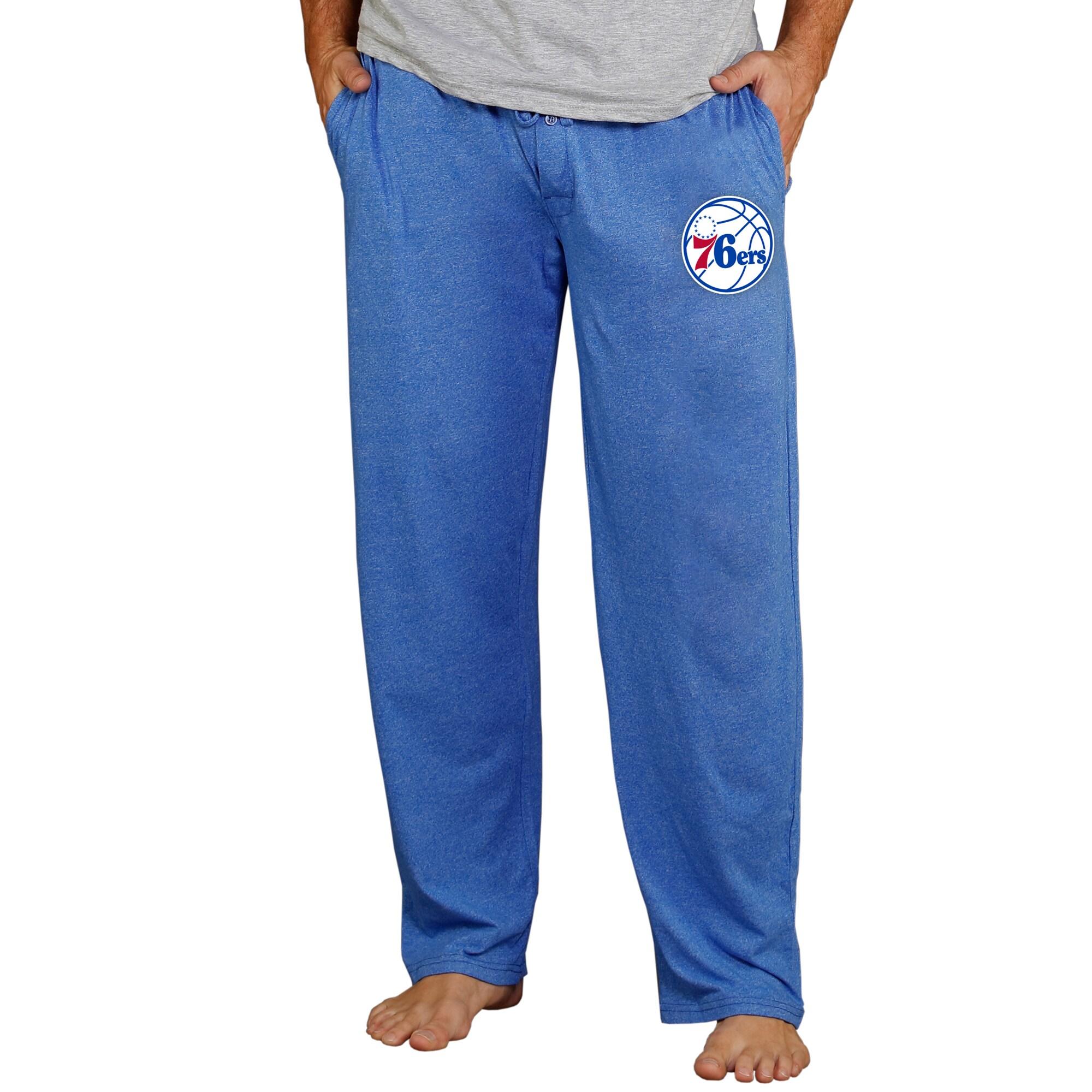 Philadelphia 76ers Concepts Sport Quest Knit Pants - Royal