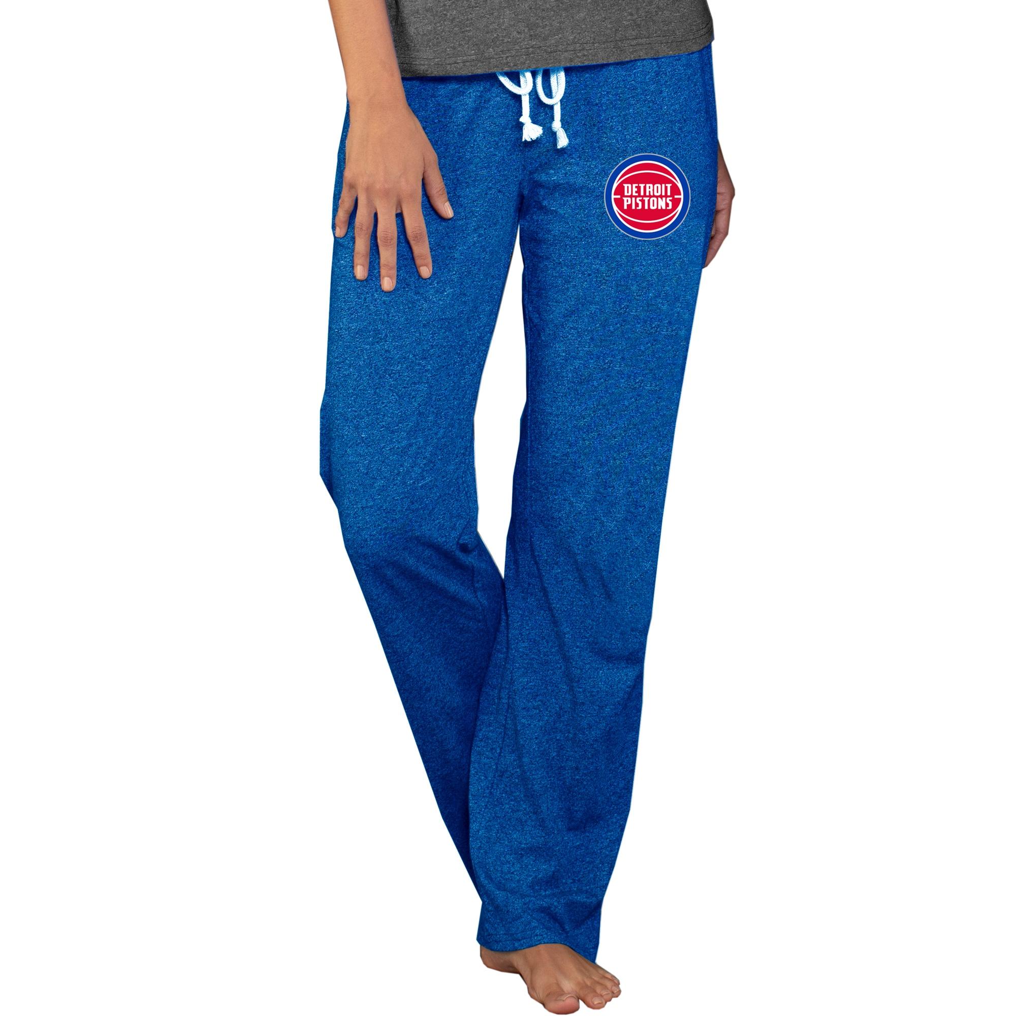 Detroit Pistons Concepts Sport Women's Quest Knit Pants - Royal