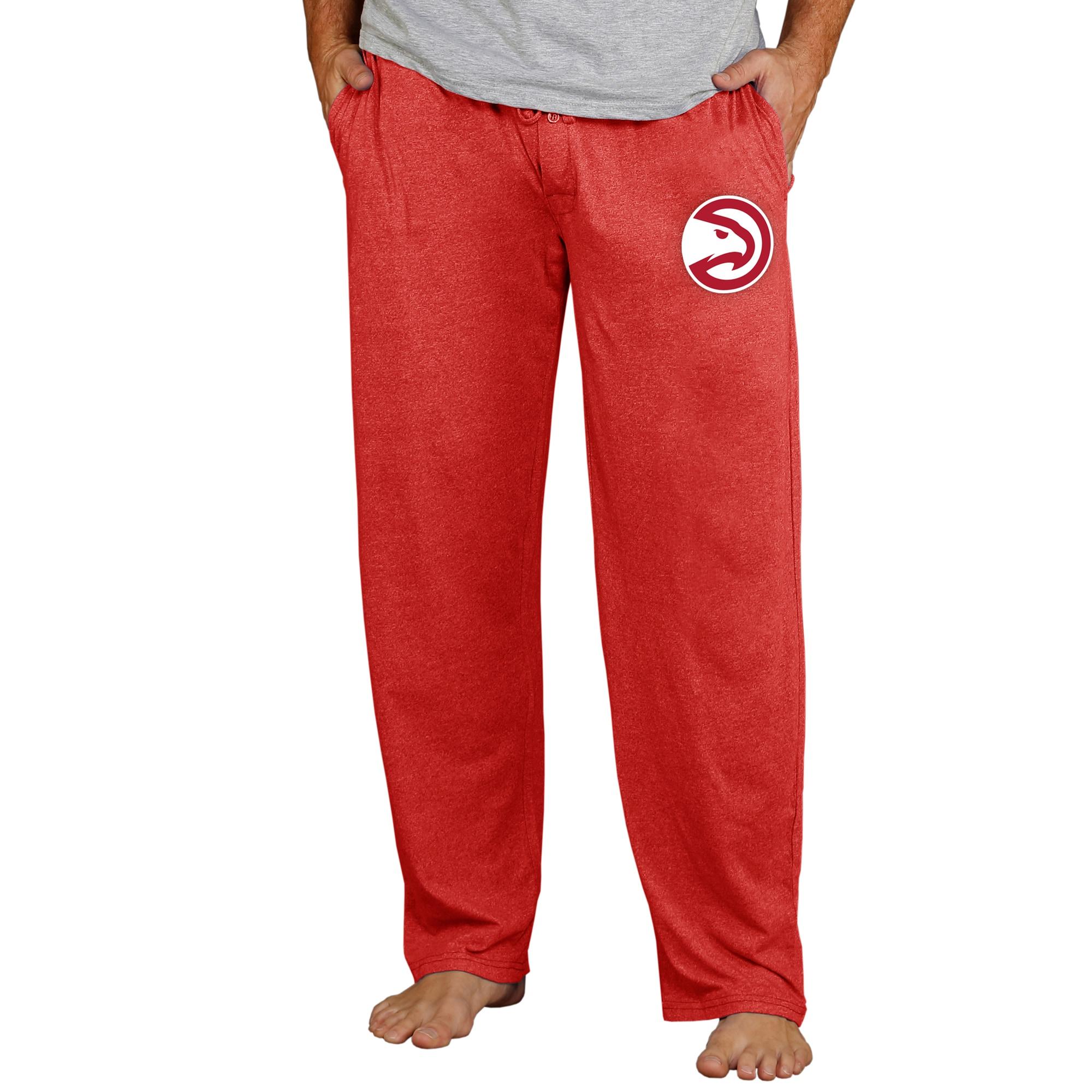 Atlanta Hawks Concepts Sport Quest Knit Lounge Pants - Red