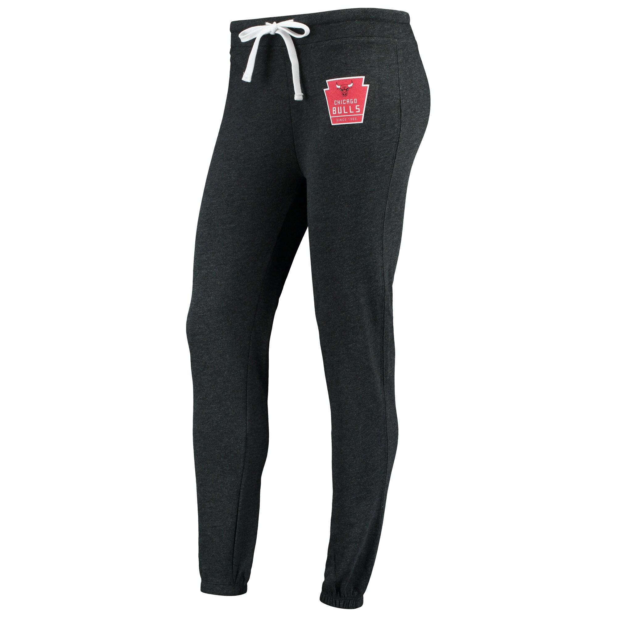 Chicago Bulls Sportiqe Women's Dundee Classic Sweatpants - Black