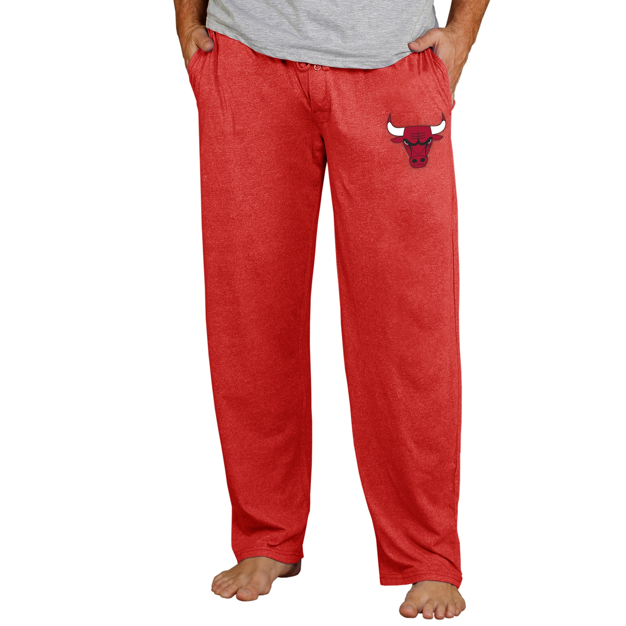 Chicago Bulls Concepts Sport Quest Knit Pants - Red