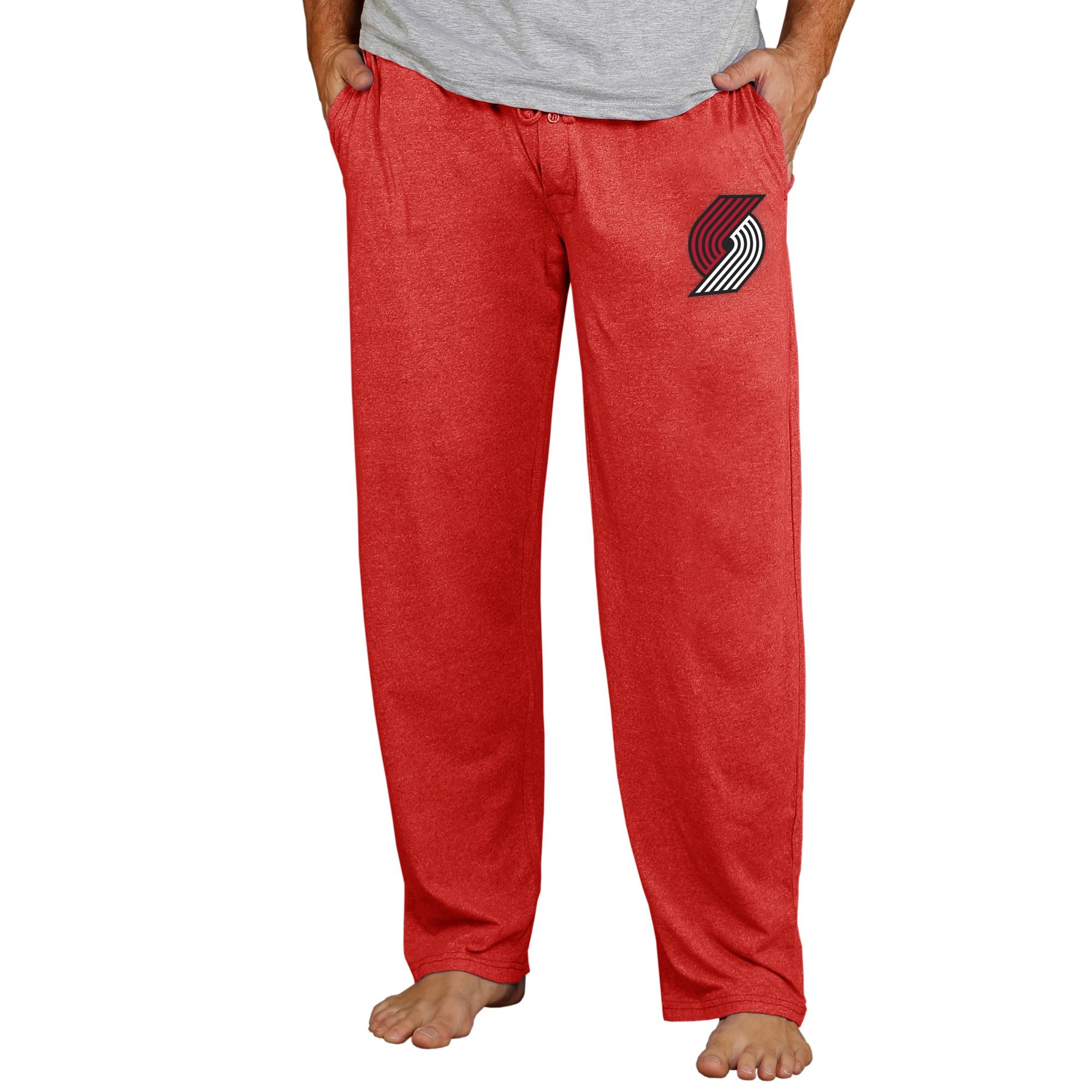 Portland Trail Blazers Concepts Sport Quest Knit Pants - Red