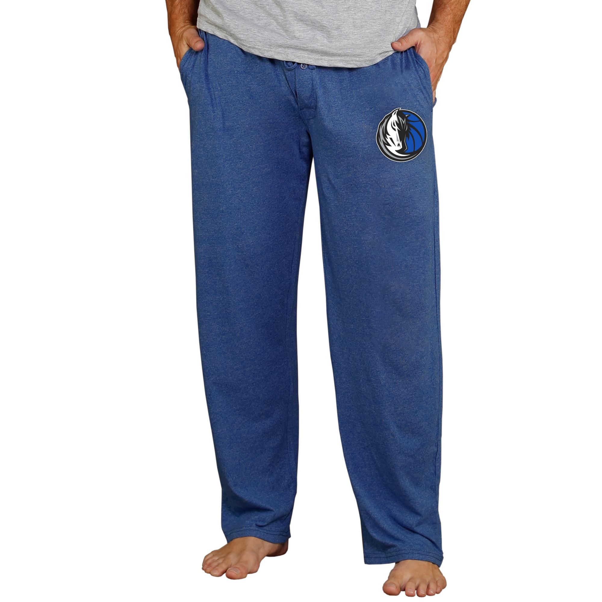 Dallas Mavericks Concepts Sport Quest Knit Pants - Navy