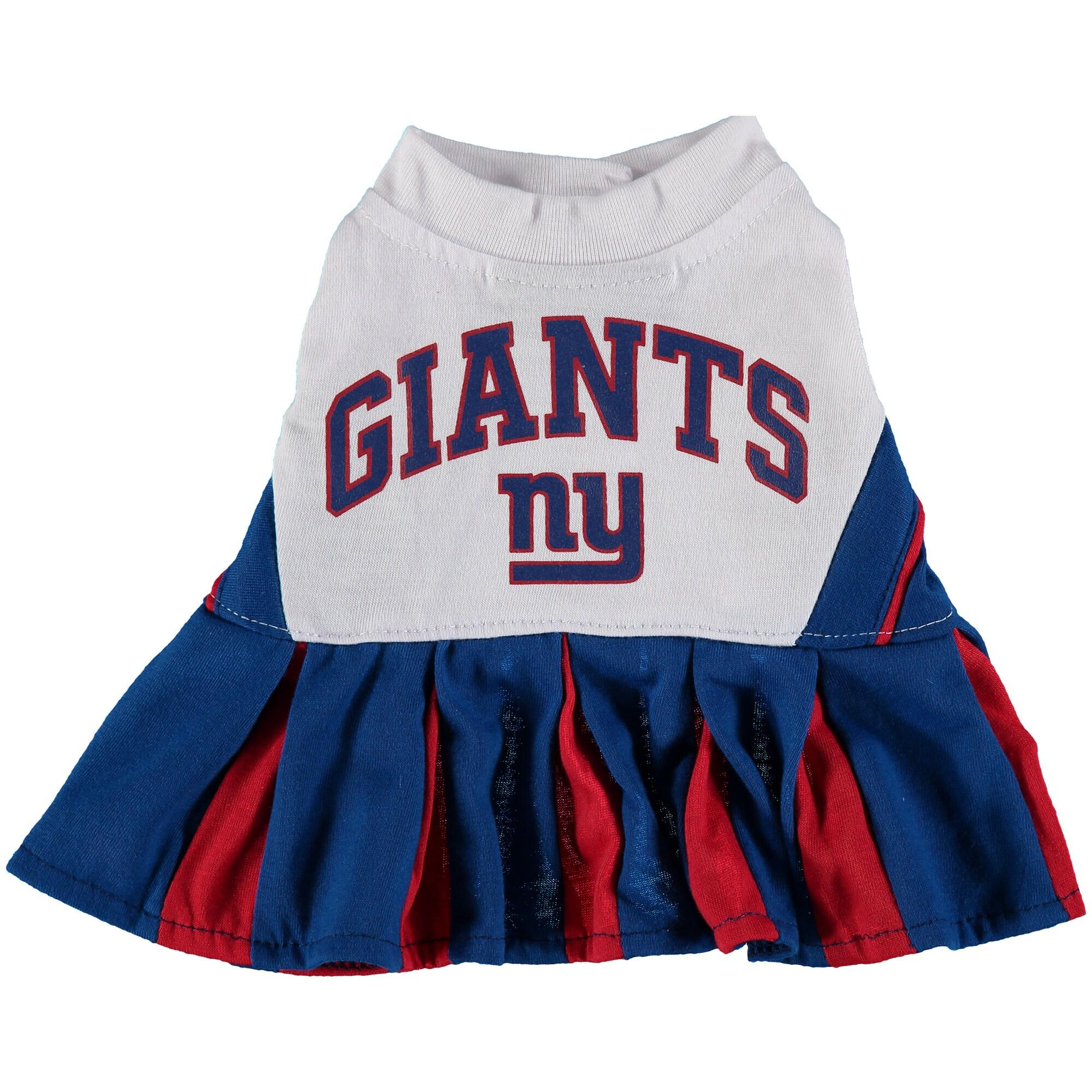 New York Giants Cheerleader Pet Outfit