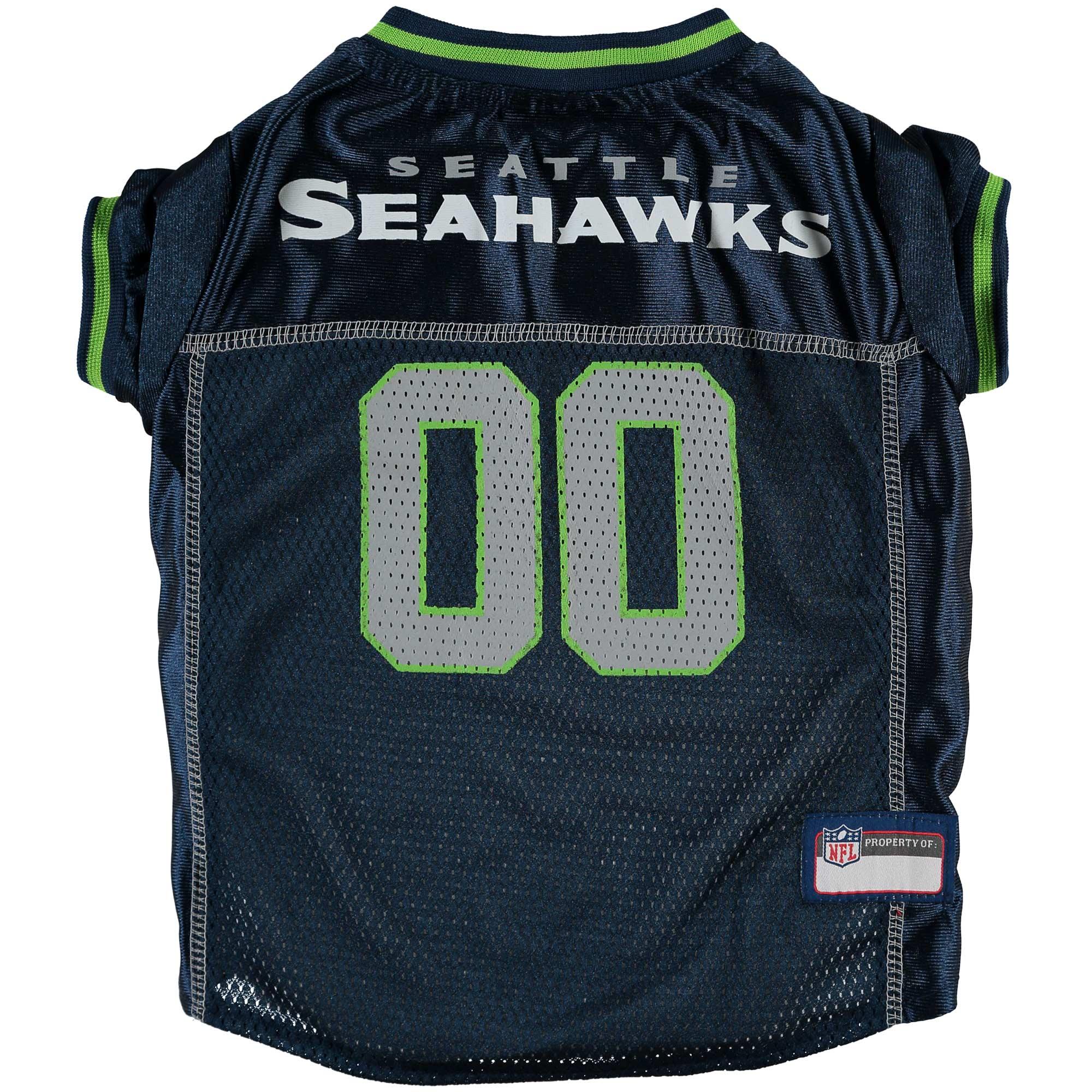Seattle Seahawks Mesh Dog Jersey