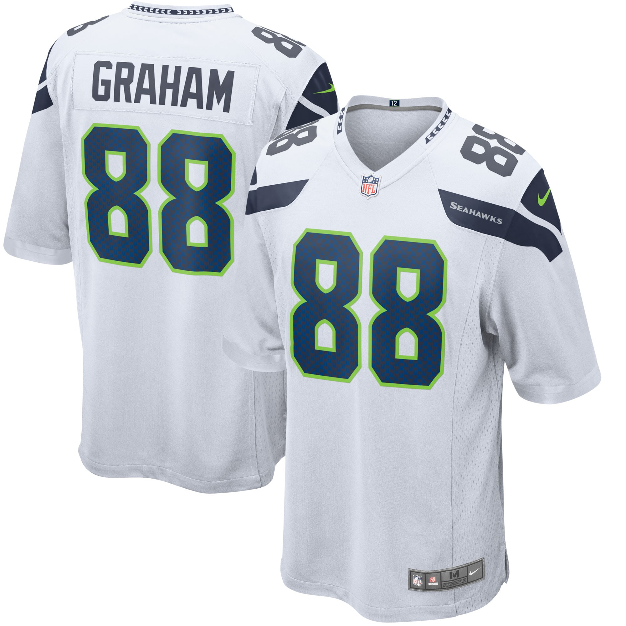 Jimmy Graham Seattle Seahawks Nike Youth Game Jersey - White